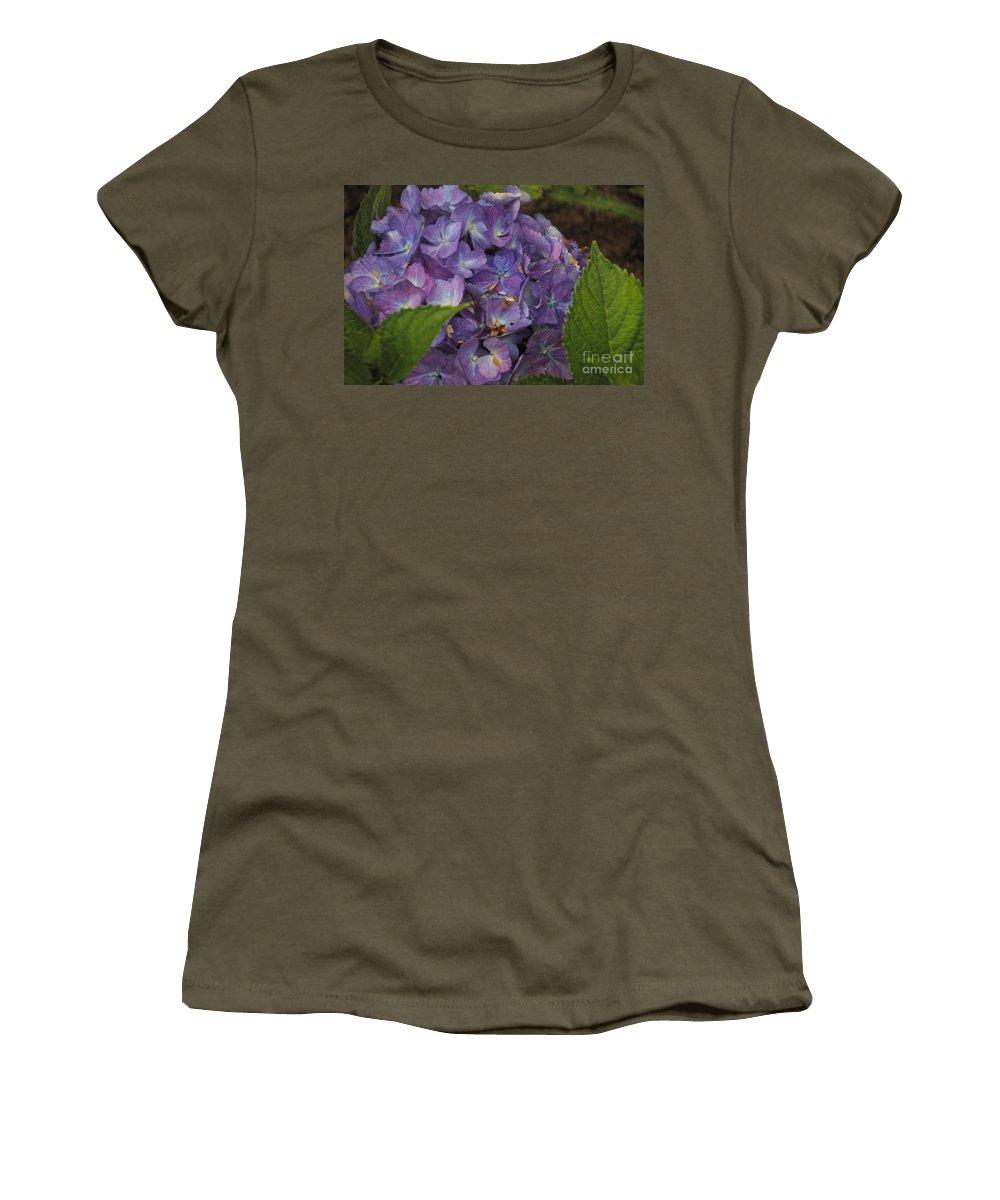 Hydrangea Women's T-Shirt featuring the photograph Hydrangea by William Norton