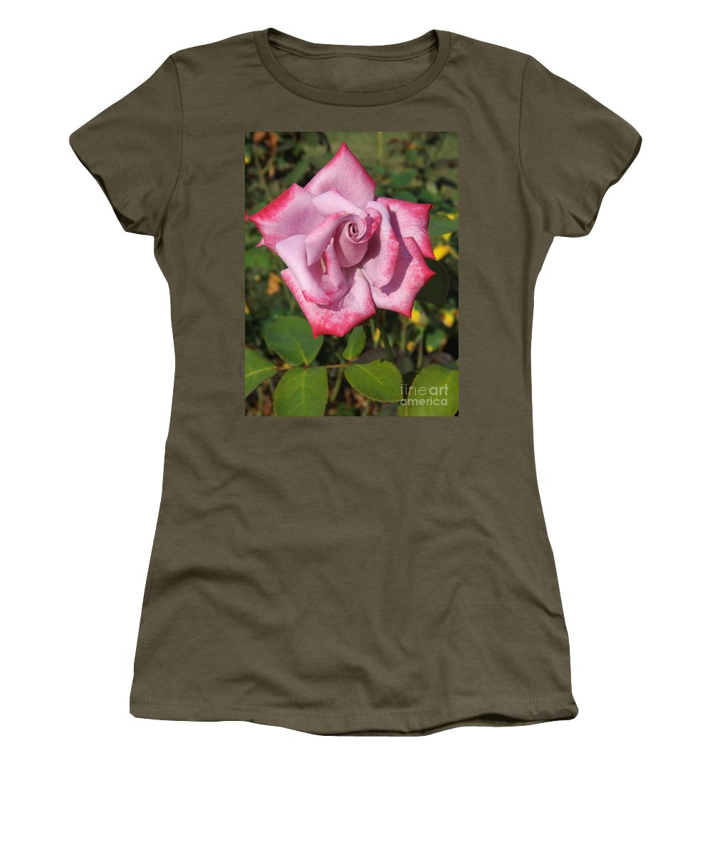 Love Women's T-Shirt featuring the photograph Paradise Rose by Sara Raber