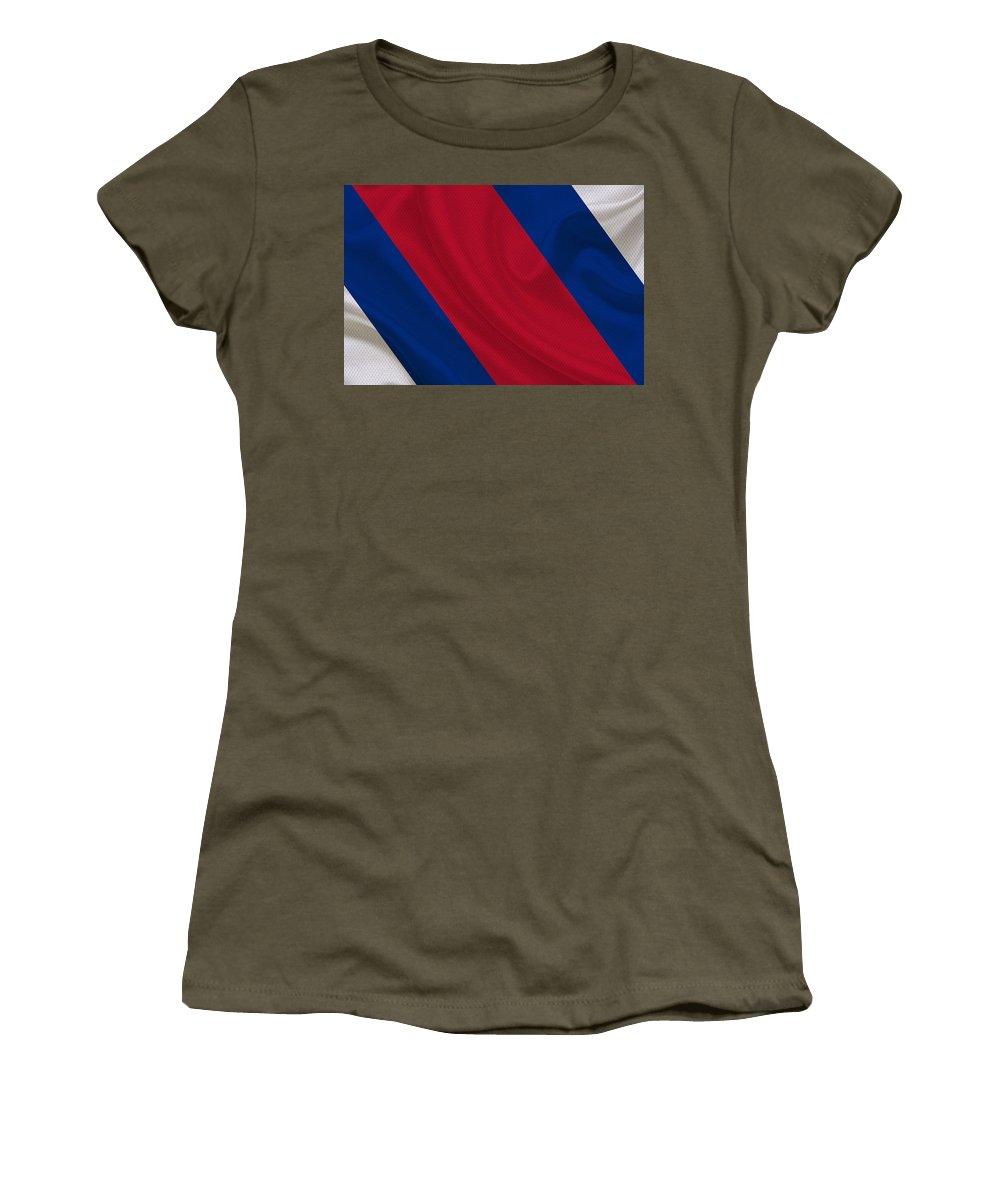 Bills Women's T-Shirt featuring the photograph Buffalo Bills by Joe Hamilton