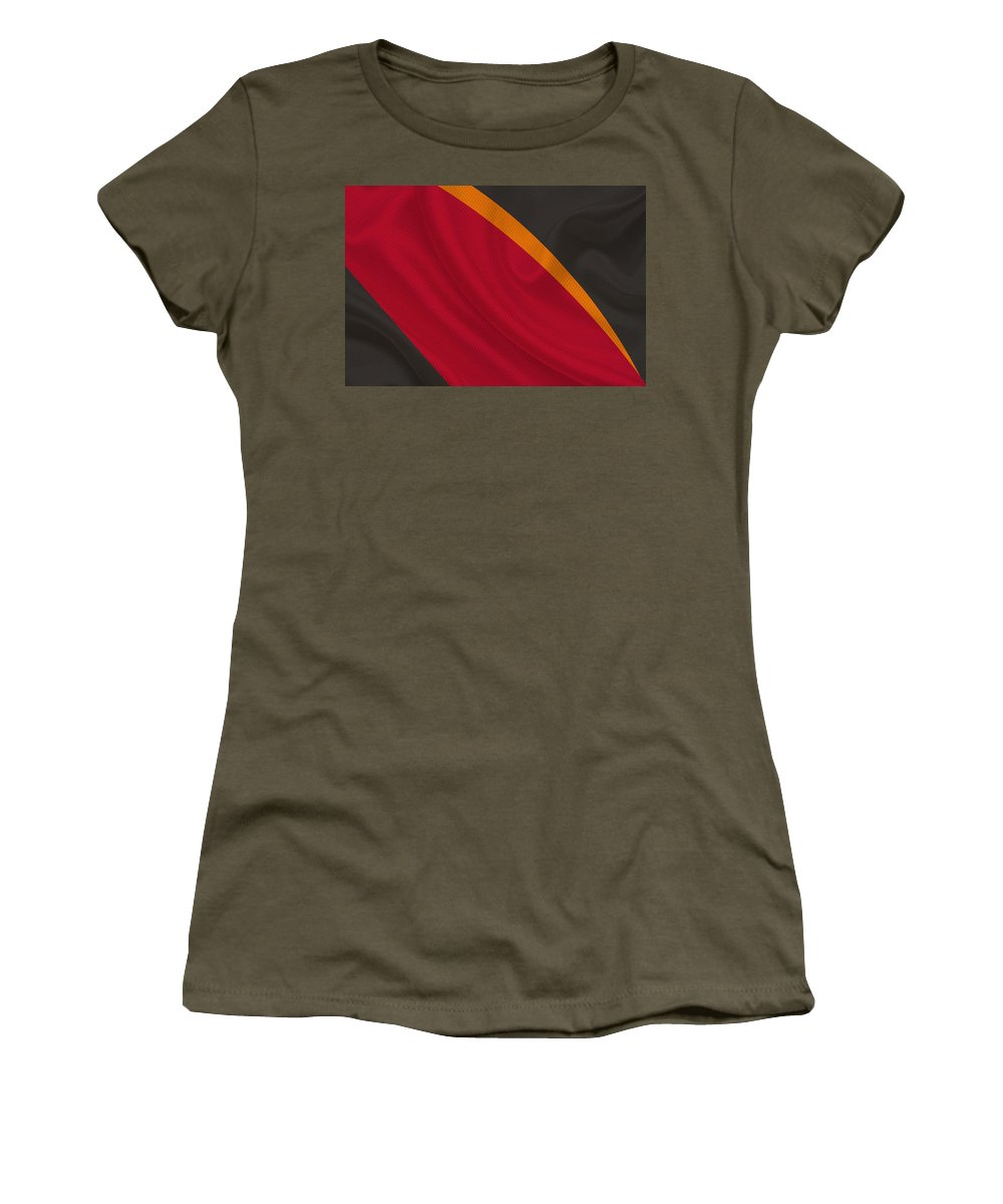 Buccaneers Women's T-Shirt featuring the photograph Tampa Bay Buccaneers by Joe Hamilton