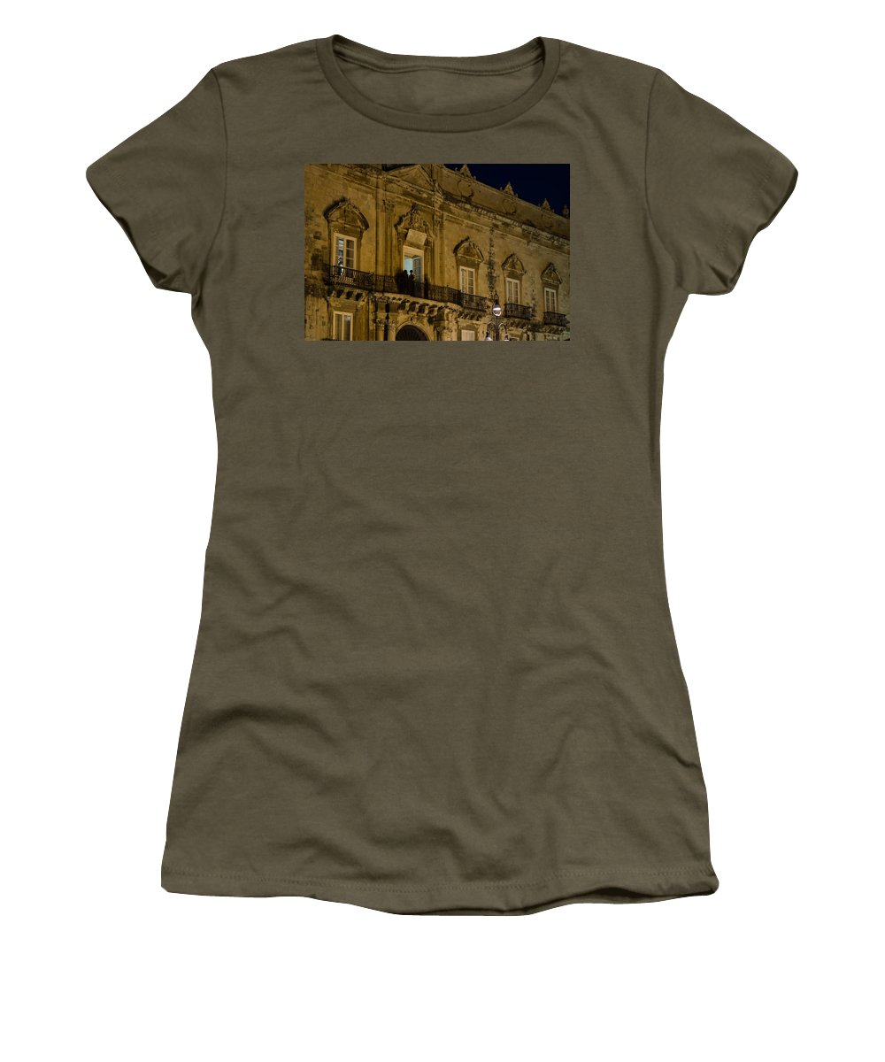 Ball Women's T-Shirt featuring the photograph A Ball At The Palace by Georgia Mizuleva