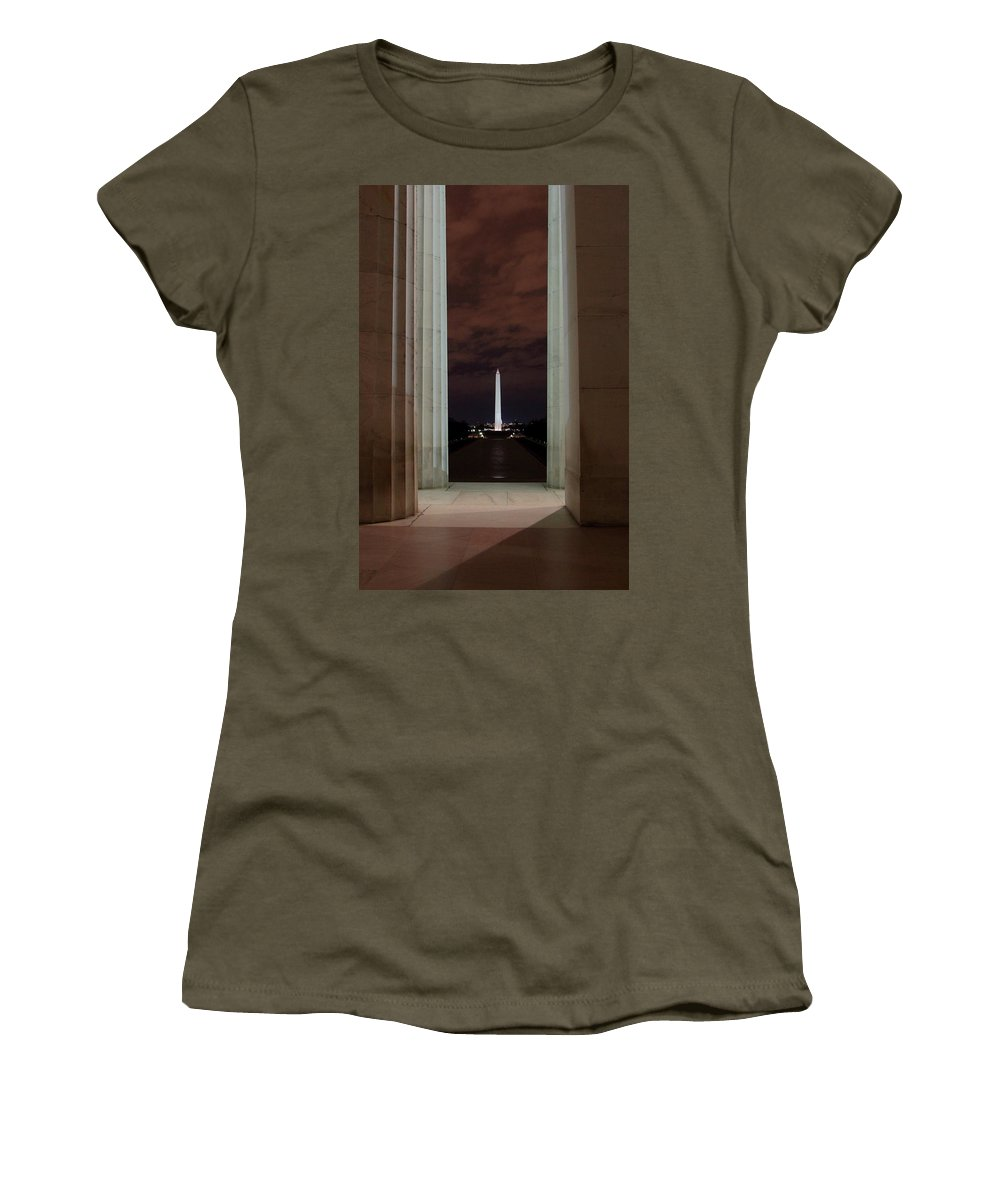 Civil War Women's T-Shirt featuring the photograph A Room With A View by Scott Fracasso