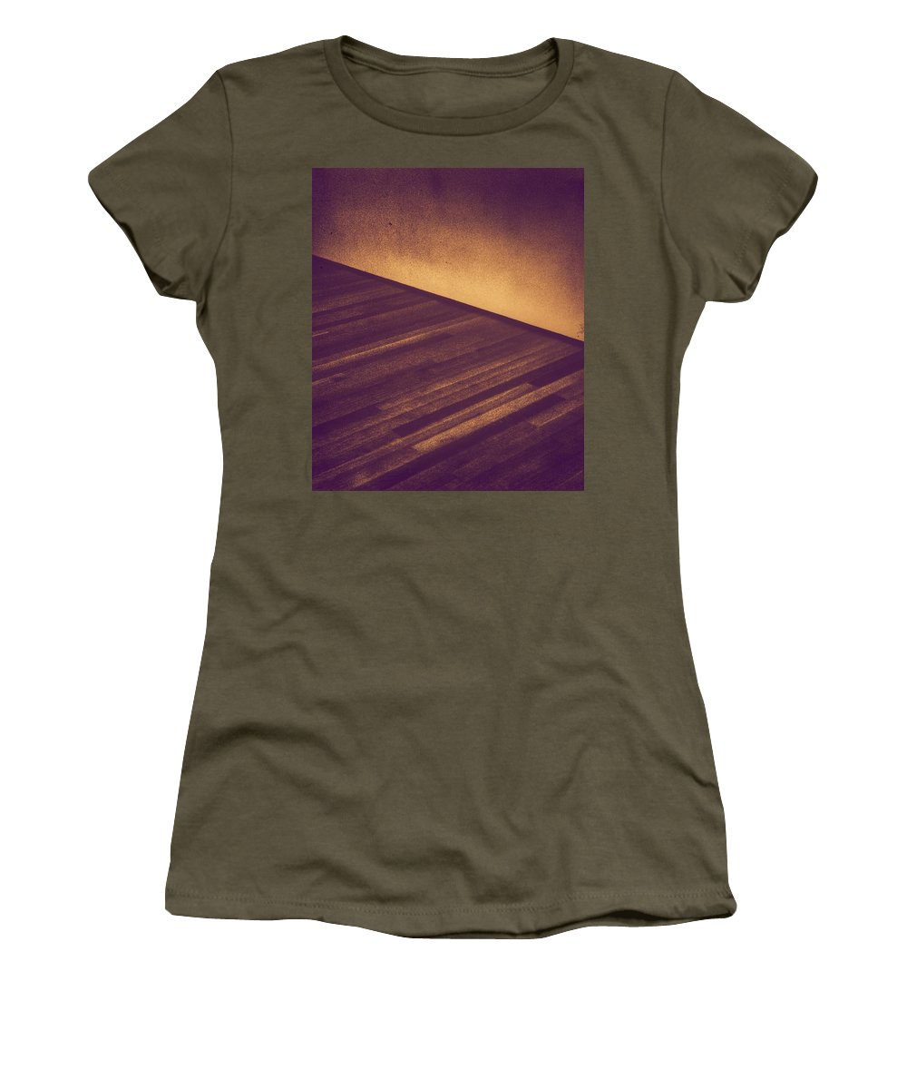 Abstract Women's T-Shirt featuring the photograph Abstract #1 by Paulo Guimaraes