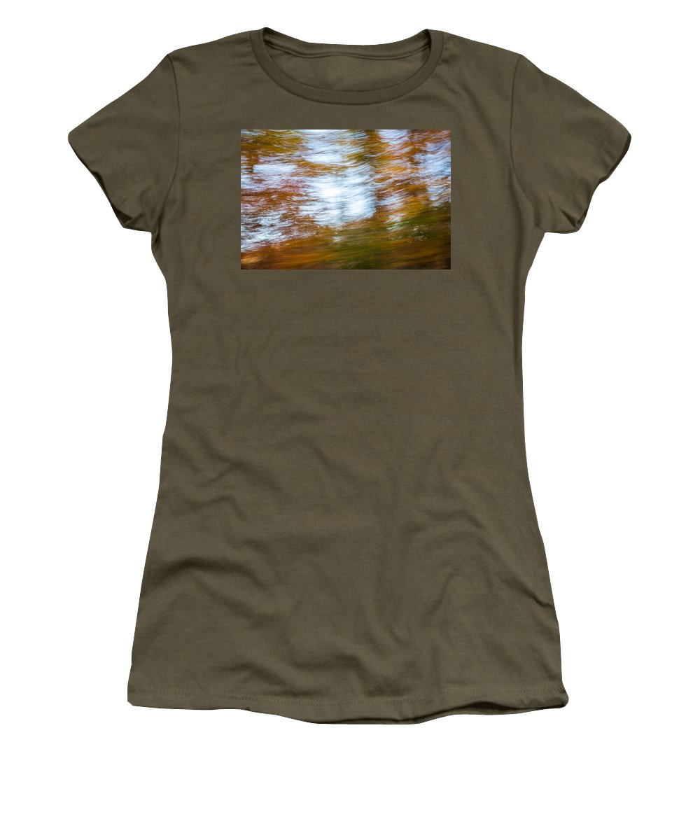 Autumn Women's T-Shirt featuring the photograph Abstract Fall 11 by Joye Ardyn Durham