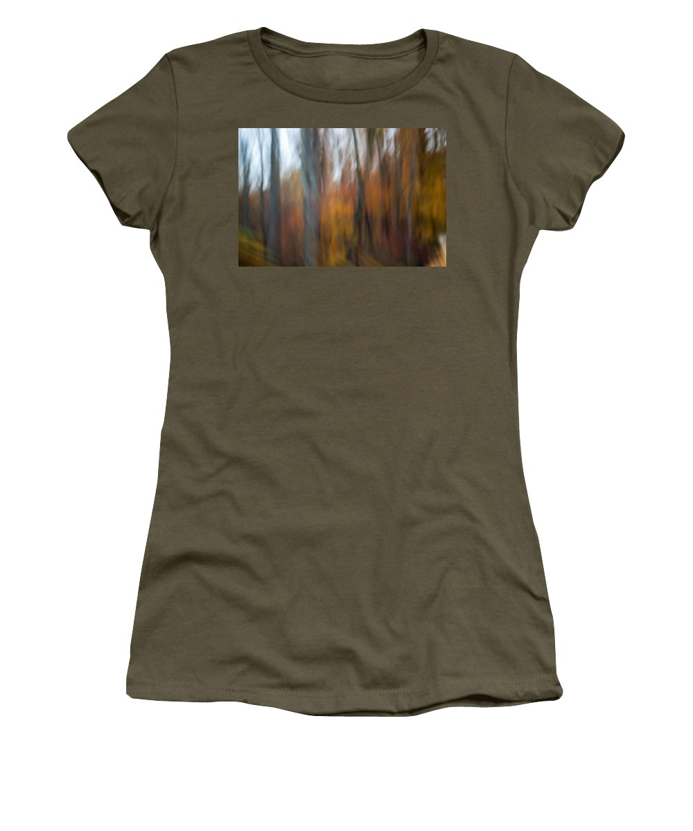 Autumn Women's T-Shirt featuring the photograph Abstract Fall 13 by Joye Ardyn Durham