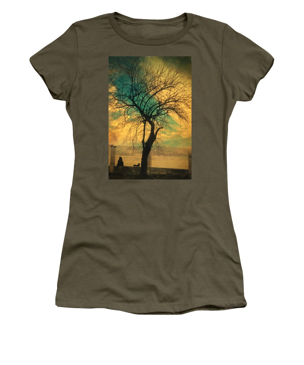 Tree Women's T-Shirt featuring the photograph Afterthought by Zapista