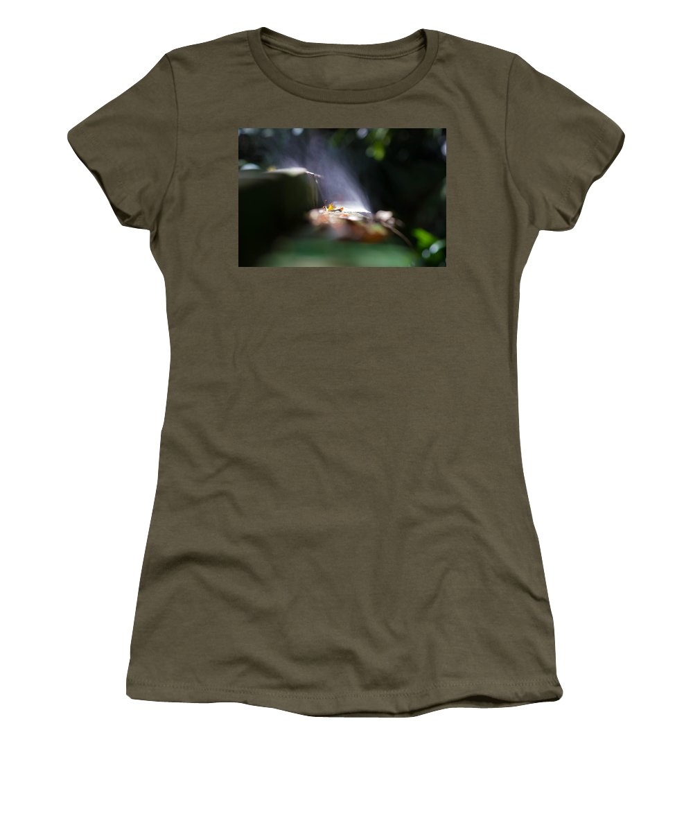 Nature Women's T-Shirt featuring the photograph All Steamed Up by Patti Colston