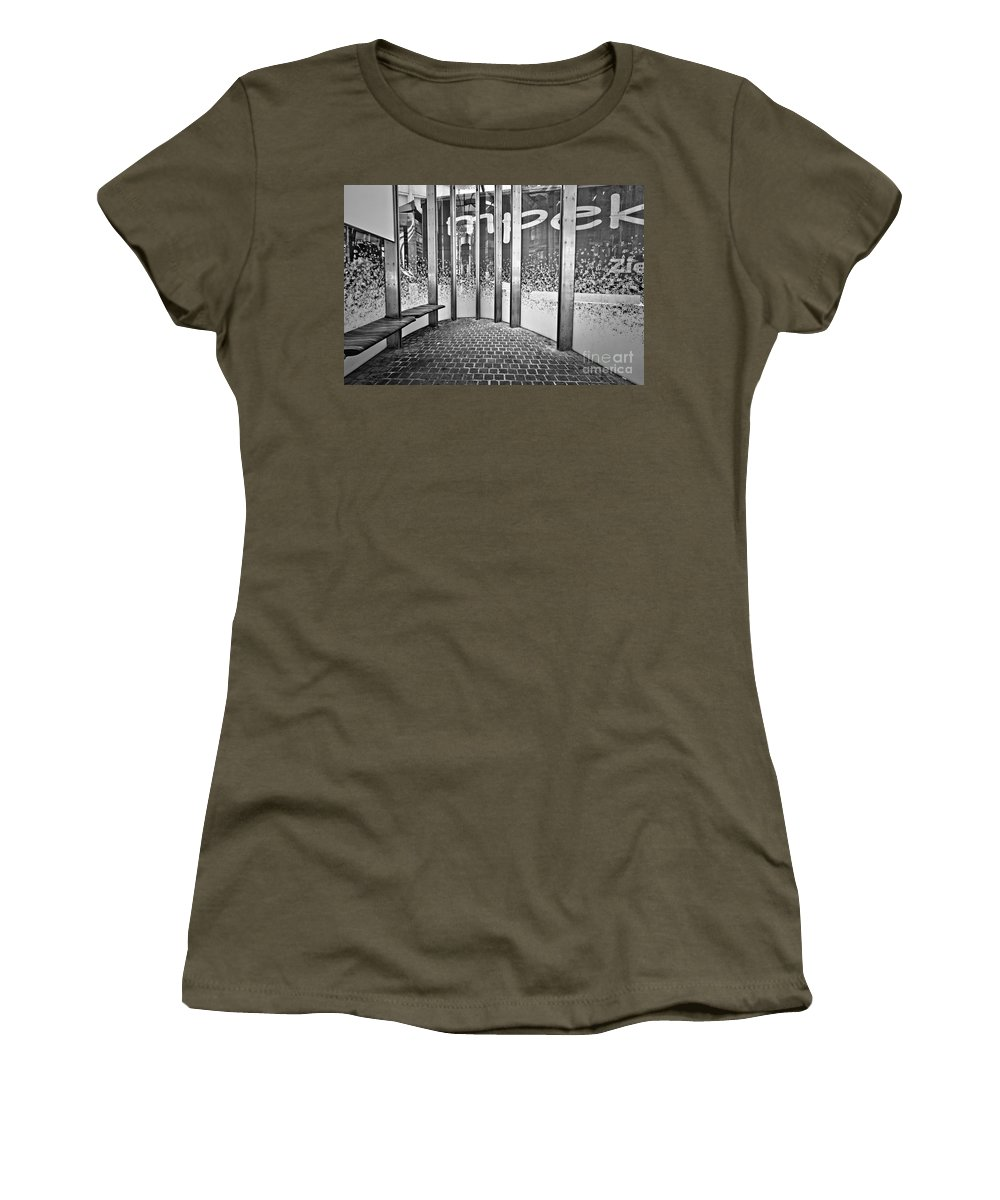 Alphabet Soup Women's T-Shirt featuring the photograph Alphabet Soup by Brothers Beerens