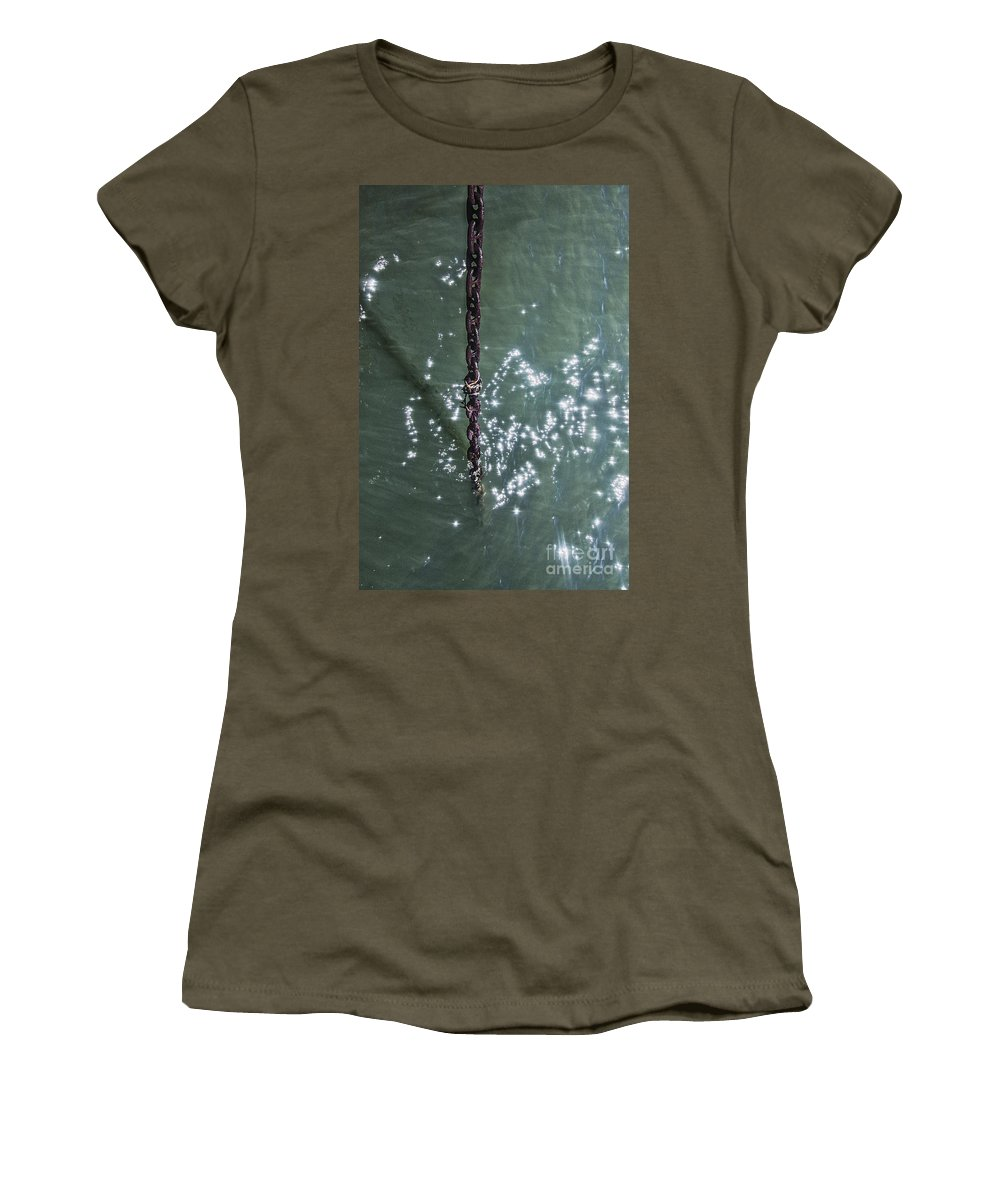 Chain Women's T-Shirt featuring the photograph Anchored by Margie Hurwich
