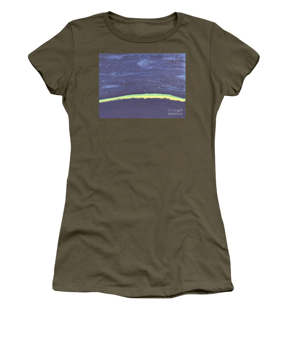 Stars Women's T-Shirt featuring the painting Arabian Night by Terry Burke