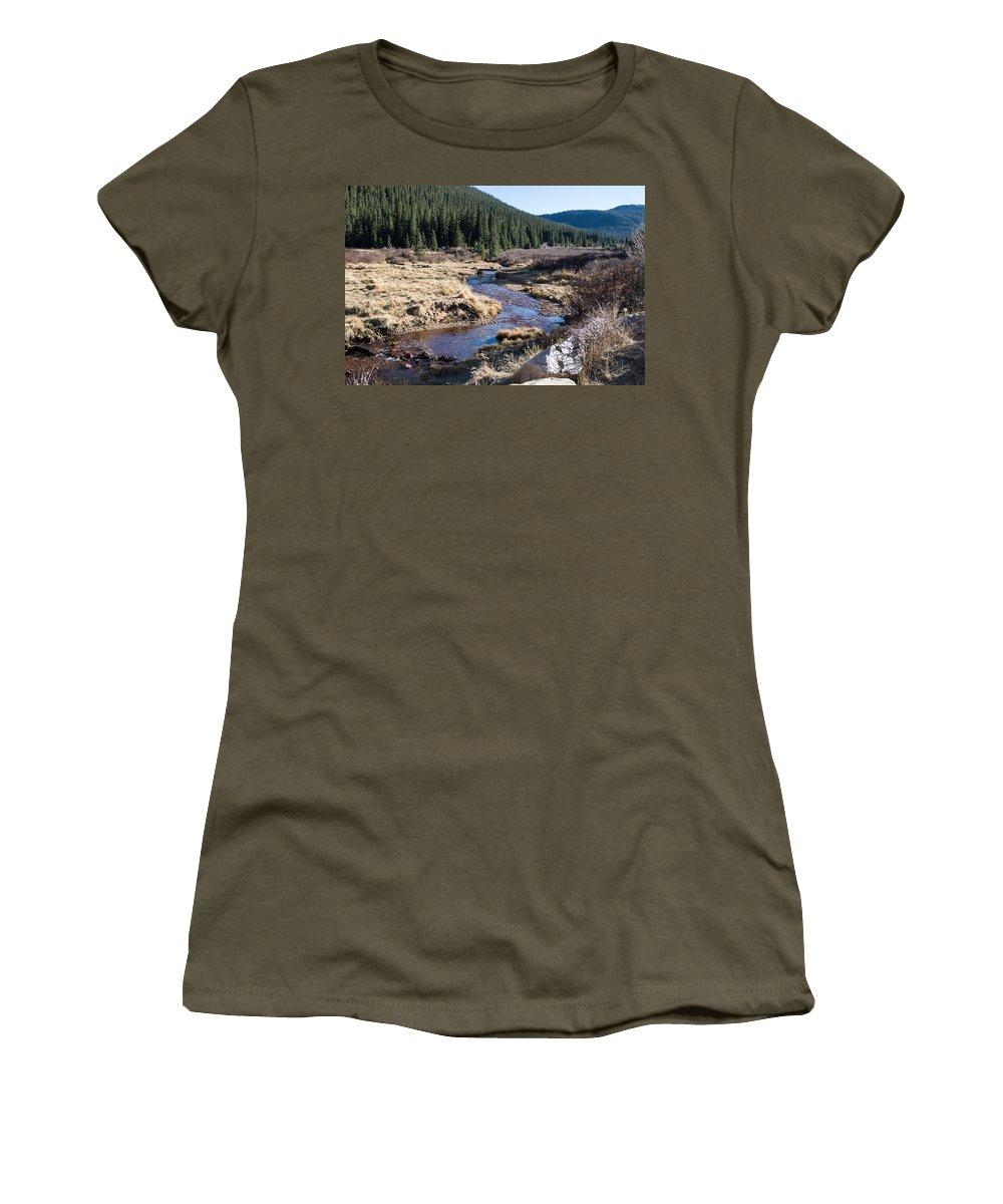 Colorado Women's T-Shirt featuring the photograph Arapaho National Forest by Debra Powell