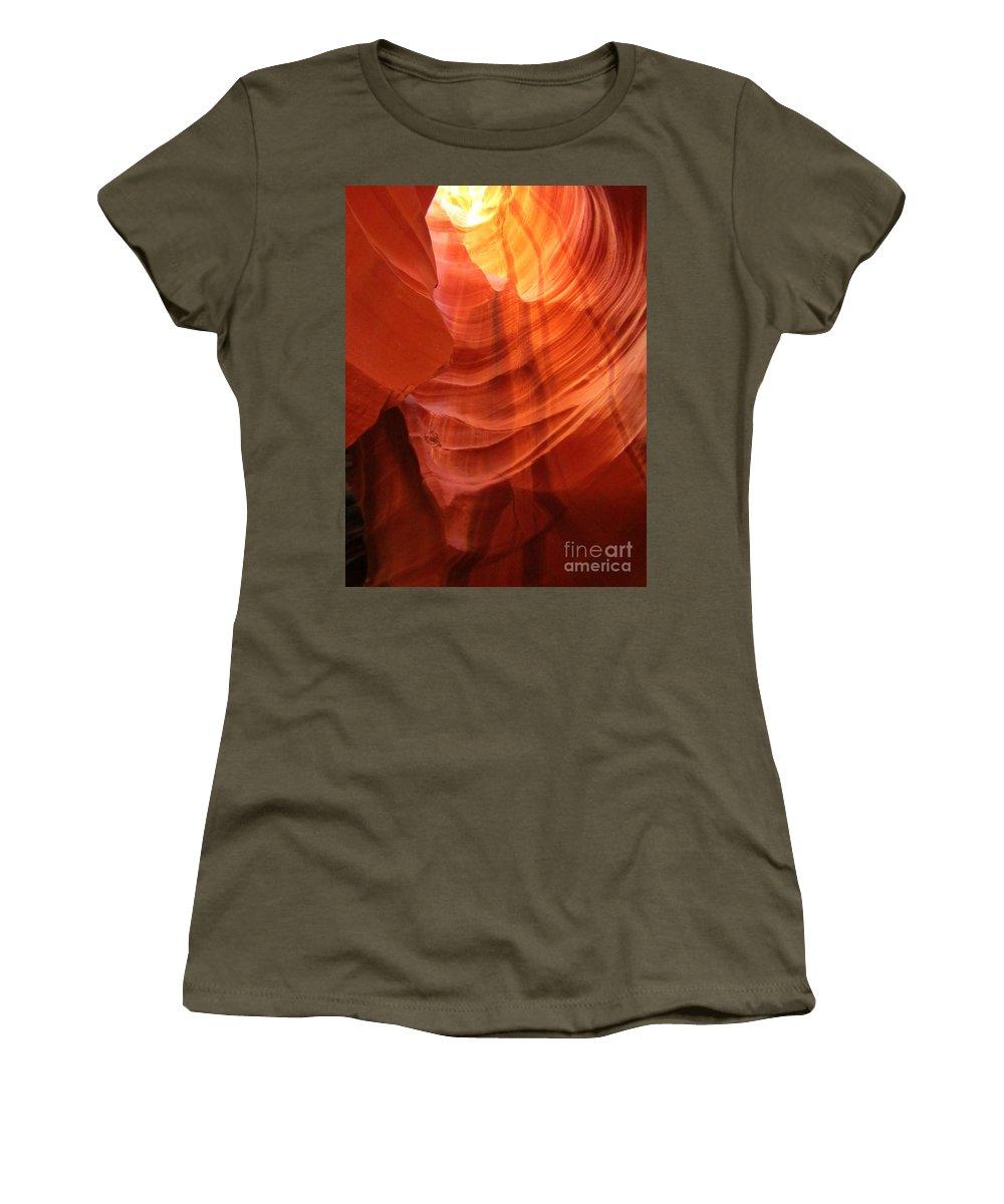 Beautiful Sandstone Women's T-Shirt featuring the photograph Beautiful Sandstone by John Malone