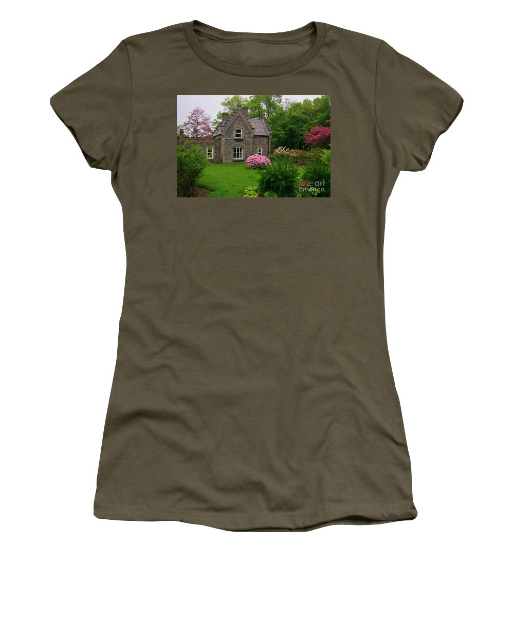 Beautiful Setting Women's T-Shirt featuring the photograph Beautiful Setting by John Malone