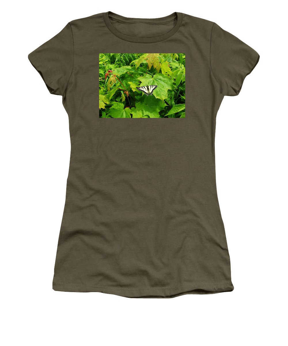 Summer Women's T-Shirt featuring the photograph Beauty Of Summer by Sherman Perry