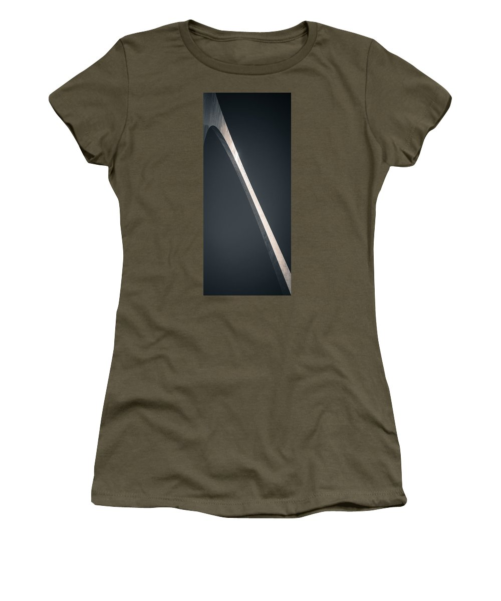 Arch Women's T-Shirt featuring the photograph Blade by Scott Rackers