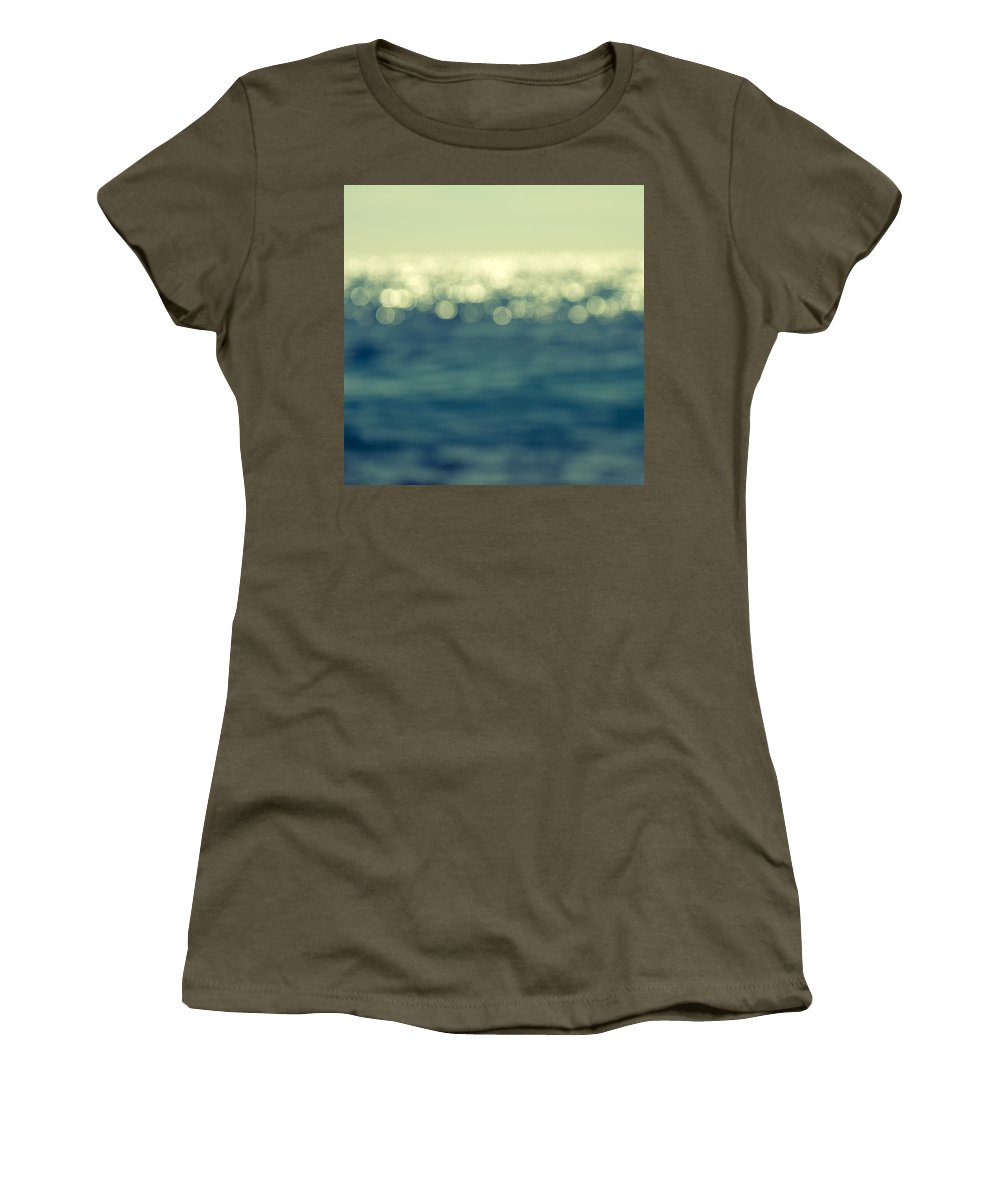 Abstract Women's T-Shirt featuring the photograph Blurred Light by Stelios Kleanthous