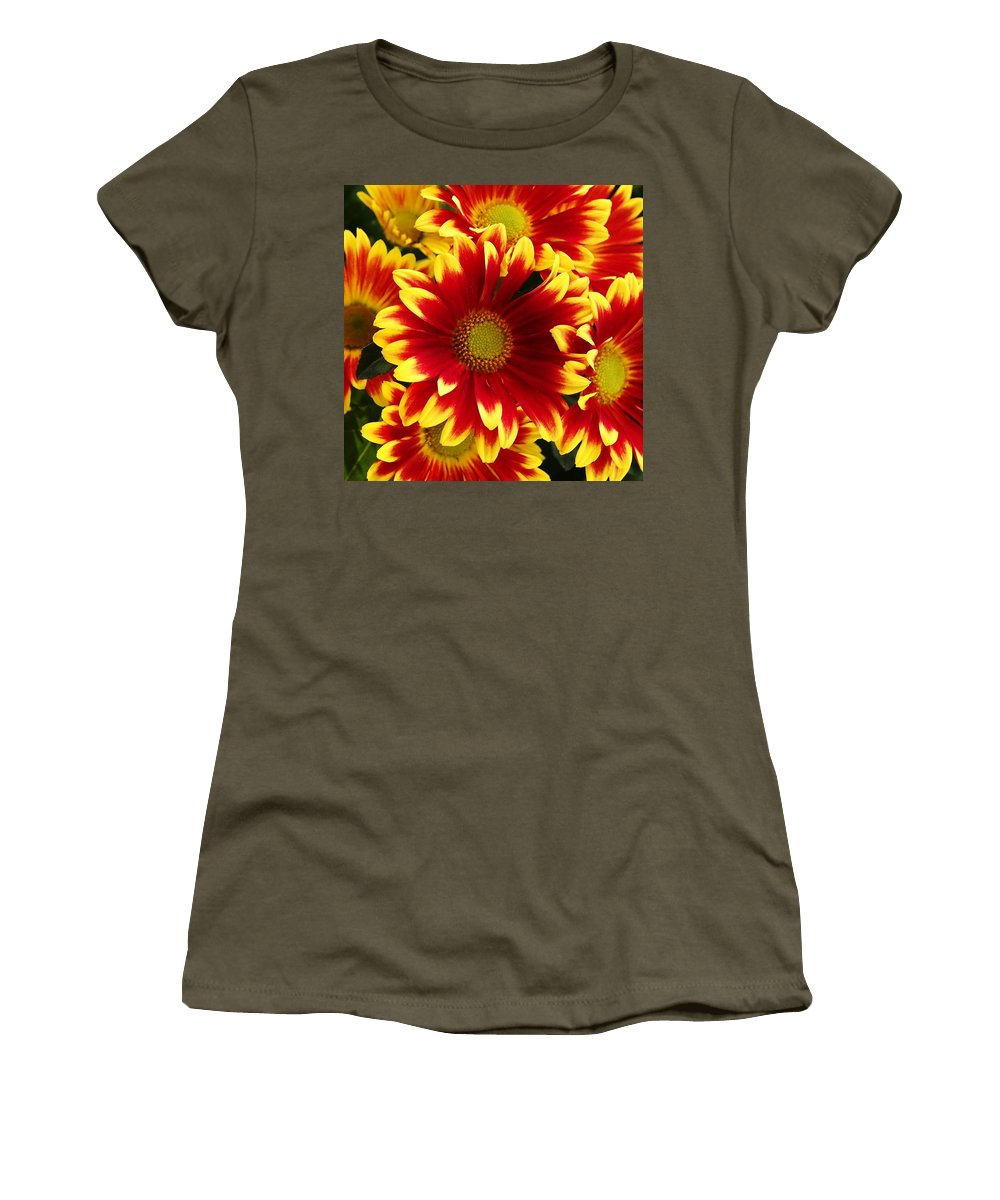 Flowers Women's T-Shirt featuring the photograph Bold by David Pantuso