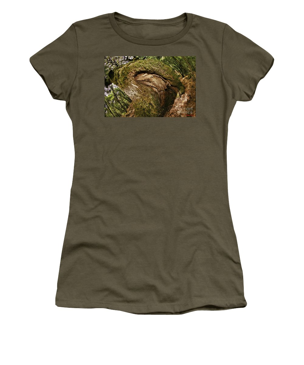 Women's T-Shirt featuring the photograph Booty Tree by Blake Richards