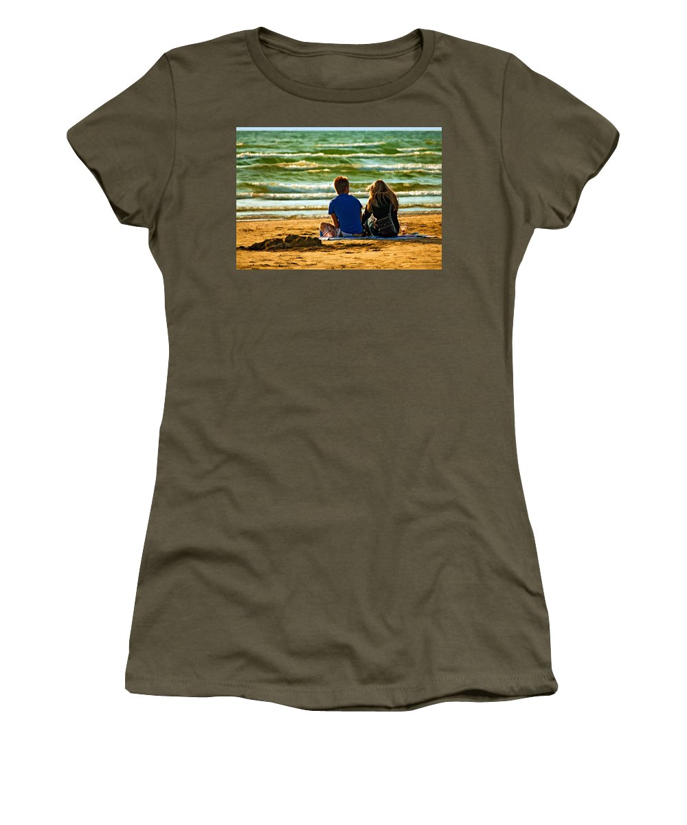 Love Women's T-Shirt featuring the photograph Building Dreams by Steve Harrington