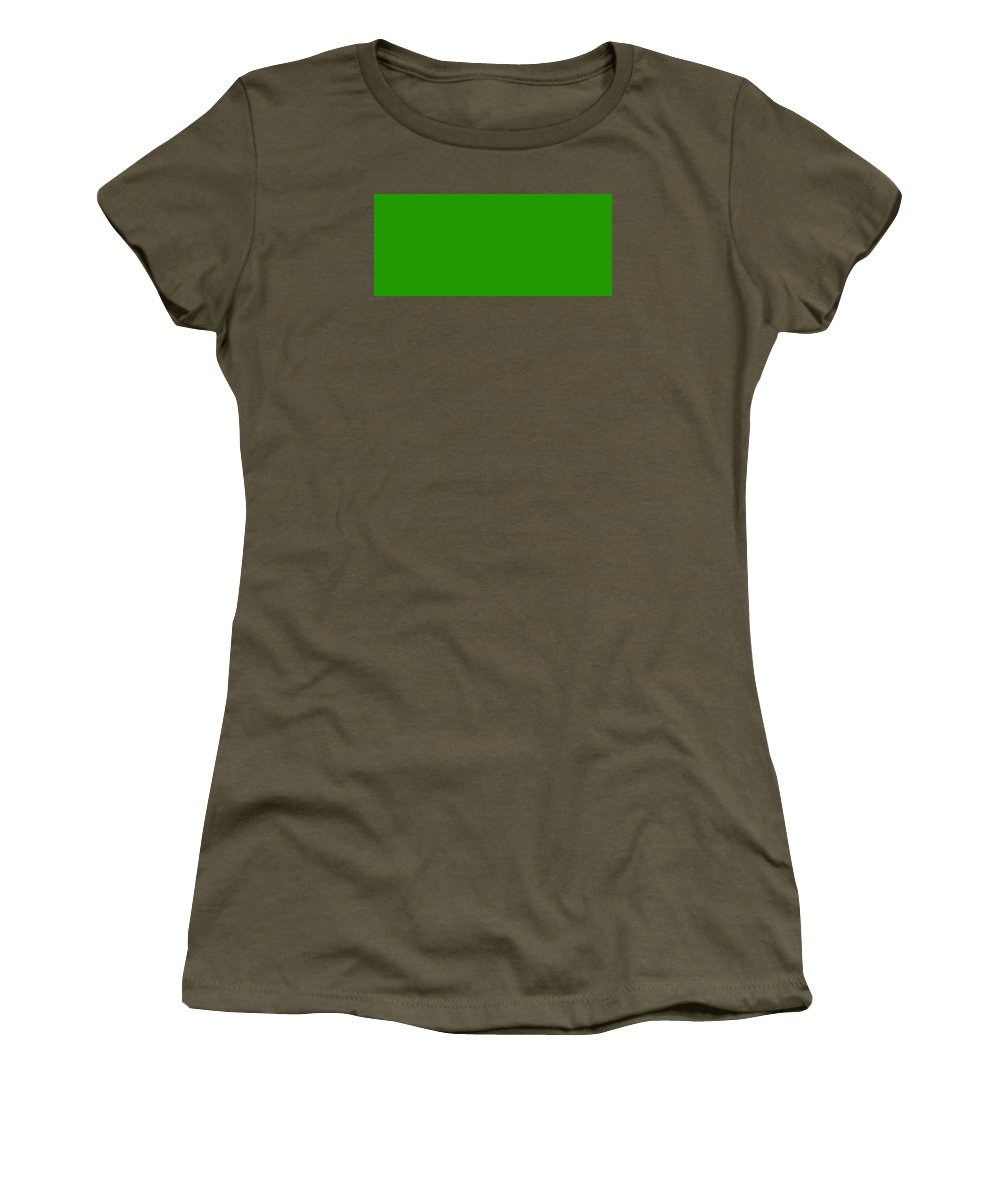 Abstract Women's T-Shirt (Athletic Fit) featuring the digital art C.1.33-153-0.7x3 by Gareth Lewis
