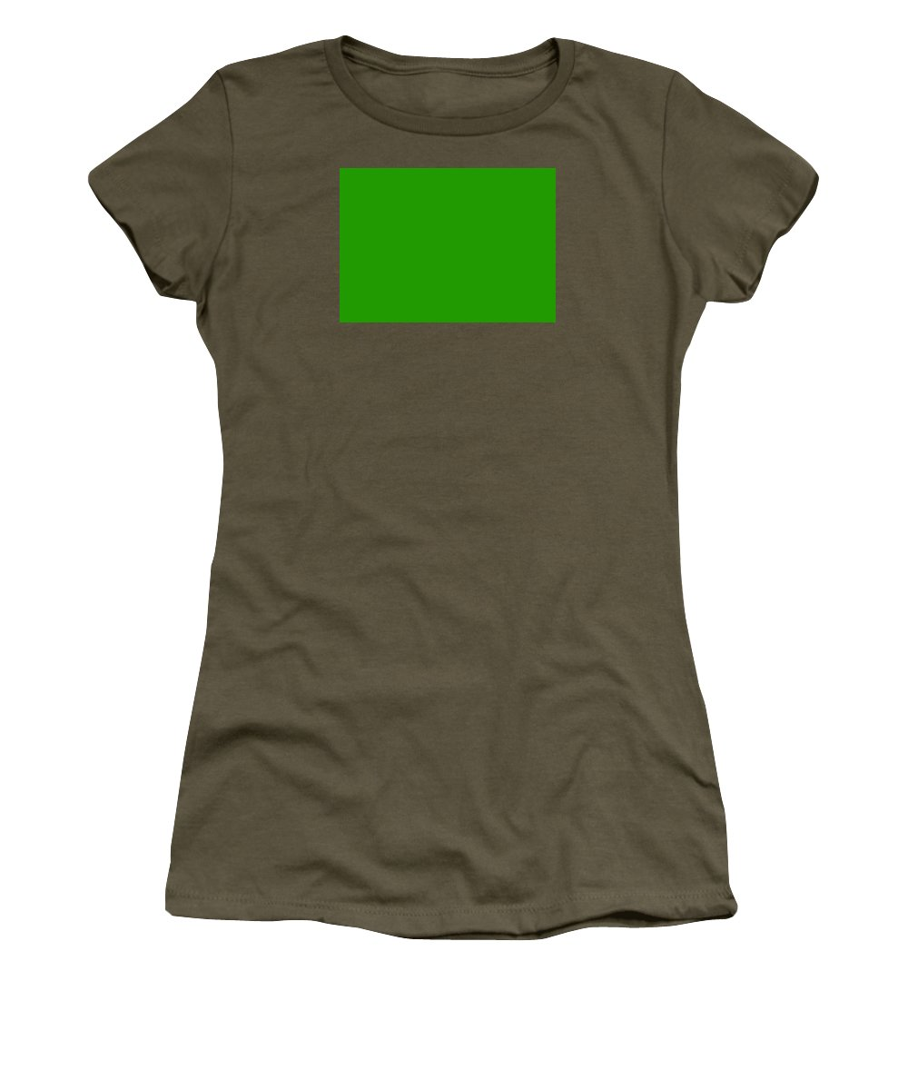 Abstract Women's T-Shirt (Athletic Fit) featuring the digital art C.1.33-153-0.7x5 by Gareth Lewis