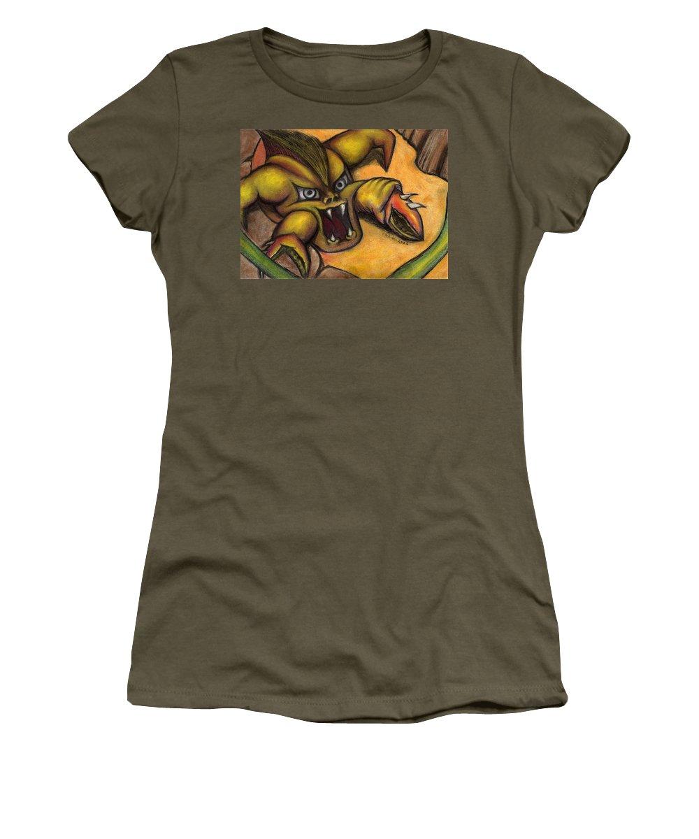 Vincent Autenrieb Women's T-Shirt featuring the pastel Caffiene by Vincent Autenrieb