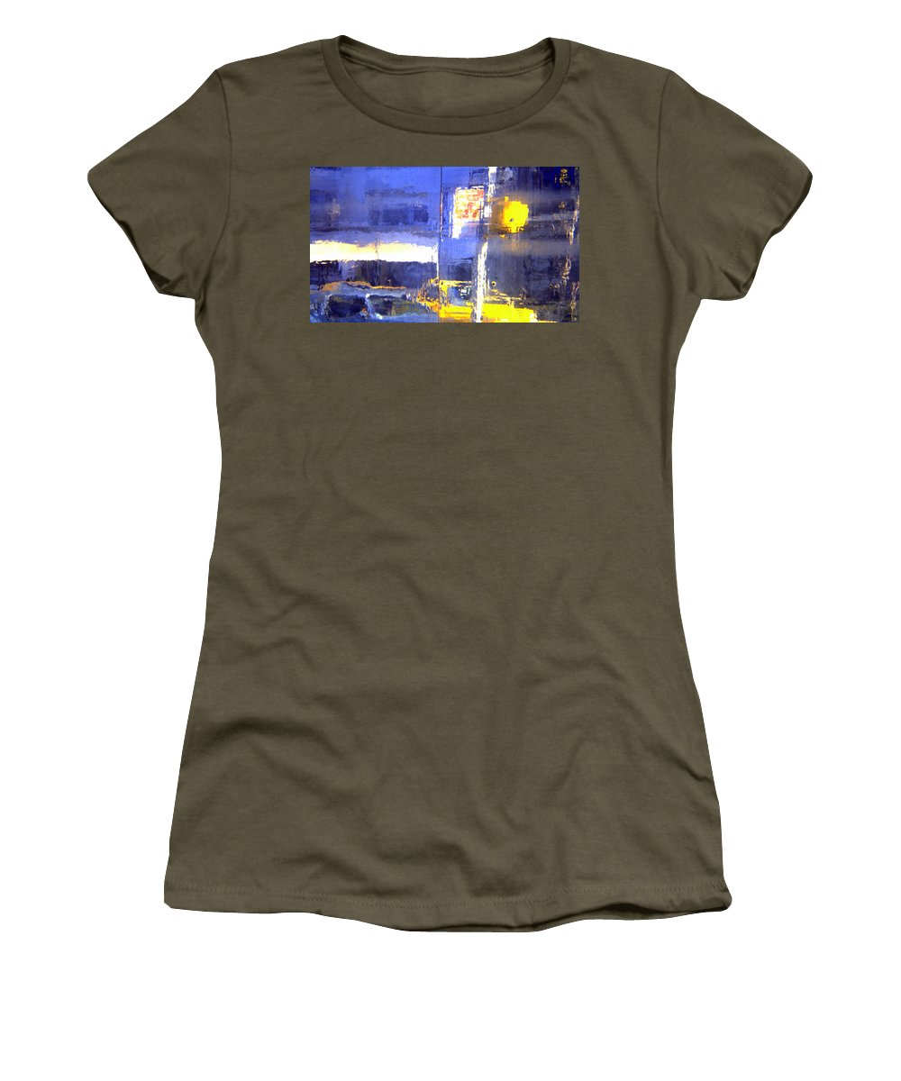 New York City Women's T-Shirt featuring the photograph City Reflection by John Greco