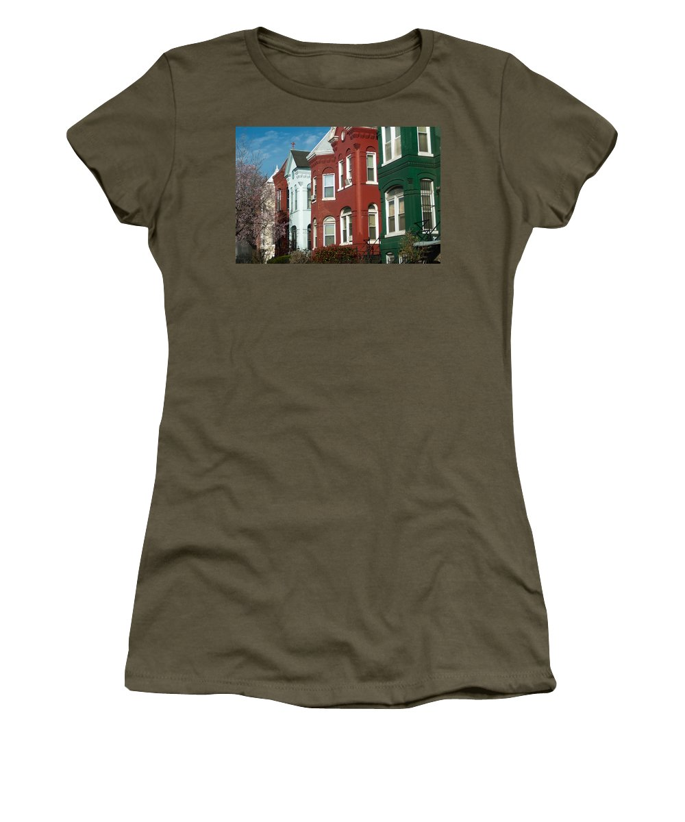 Ancient Women's T-Shirt featuring the photograph Classic American Architecture In Washington Dc by Alex Grichenko