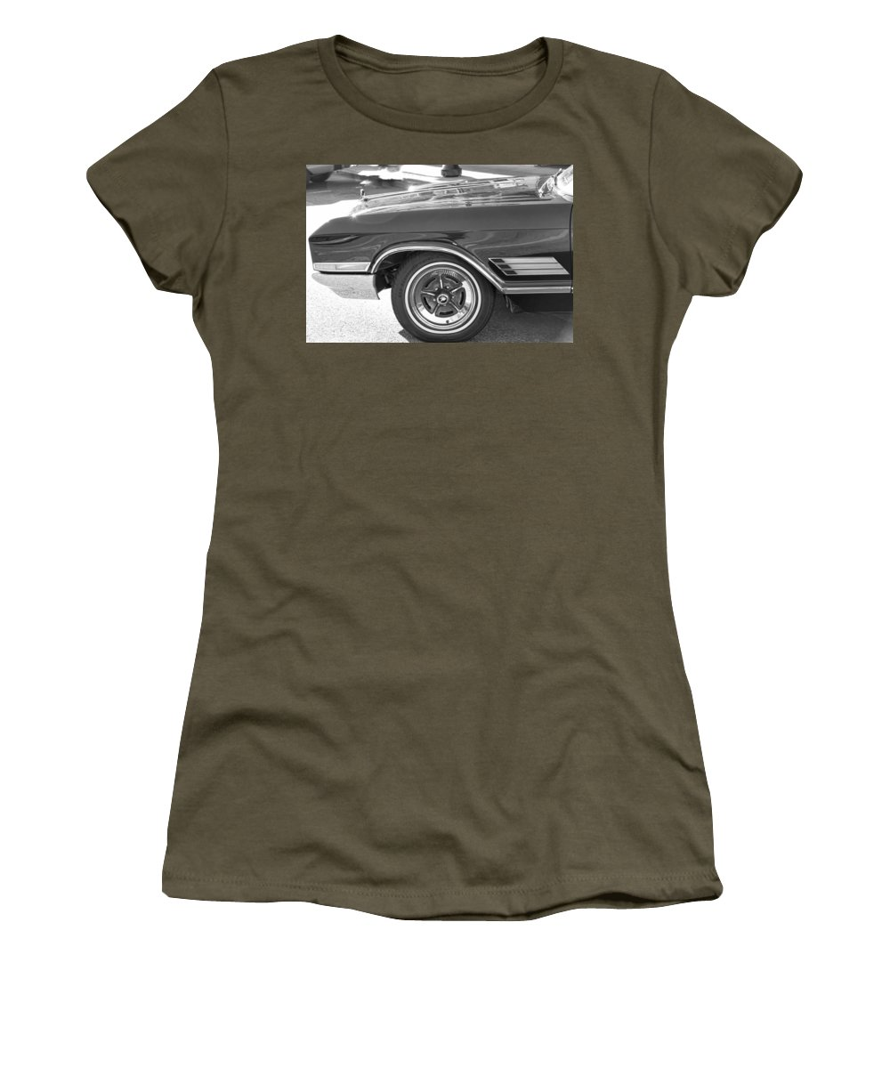 Women's T-Shirt featuring the photograph Classic Car Show 3 by Cathy Anderson