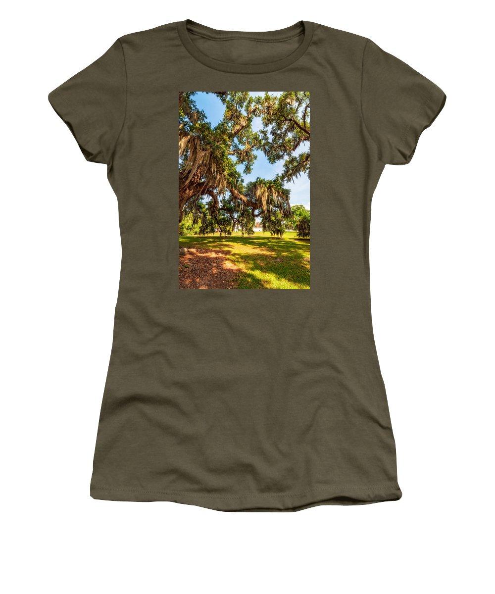 Nola Women's T-Shirt featuring the photograph Classic Southern Beauty 2 by Steve Harrington