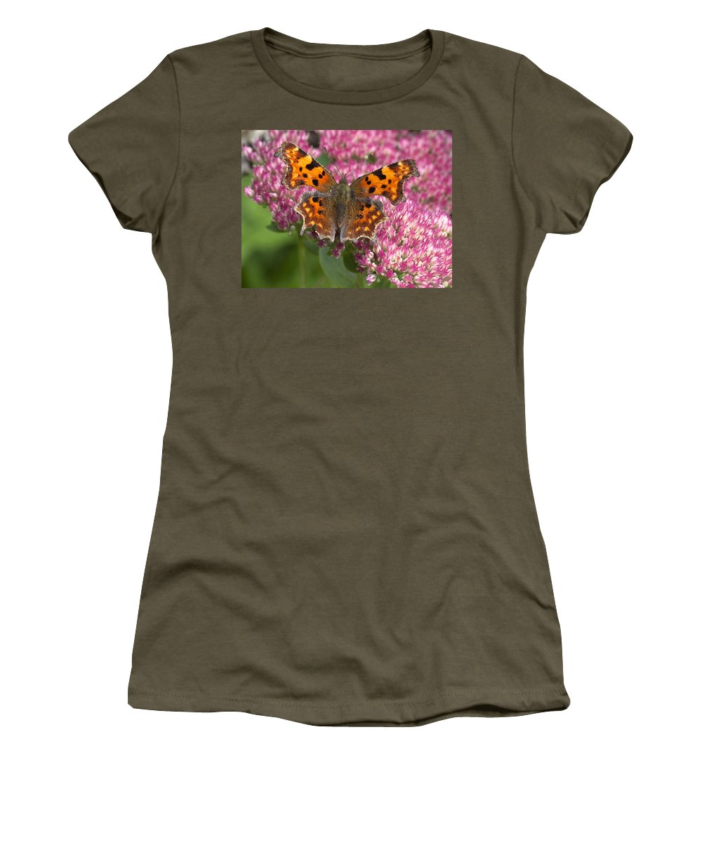 Comma Women's T-Shirt featuring the photograph Comma 2 by Richard Thomas