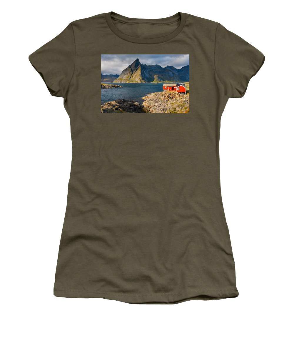 Europe Women's T-Shirt featuring the photograph Cottage With A View by Michael Blanchette