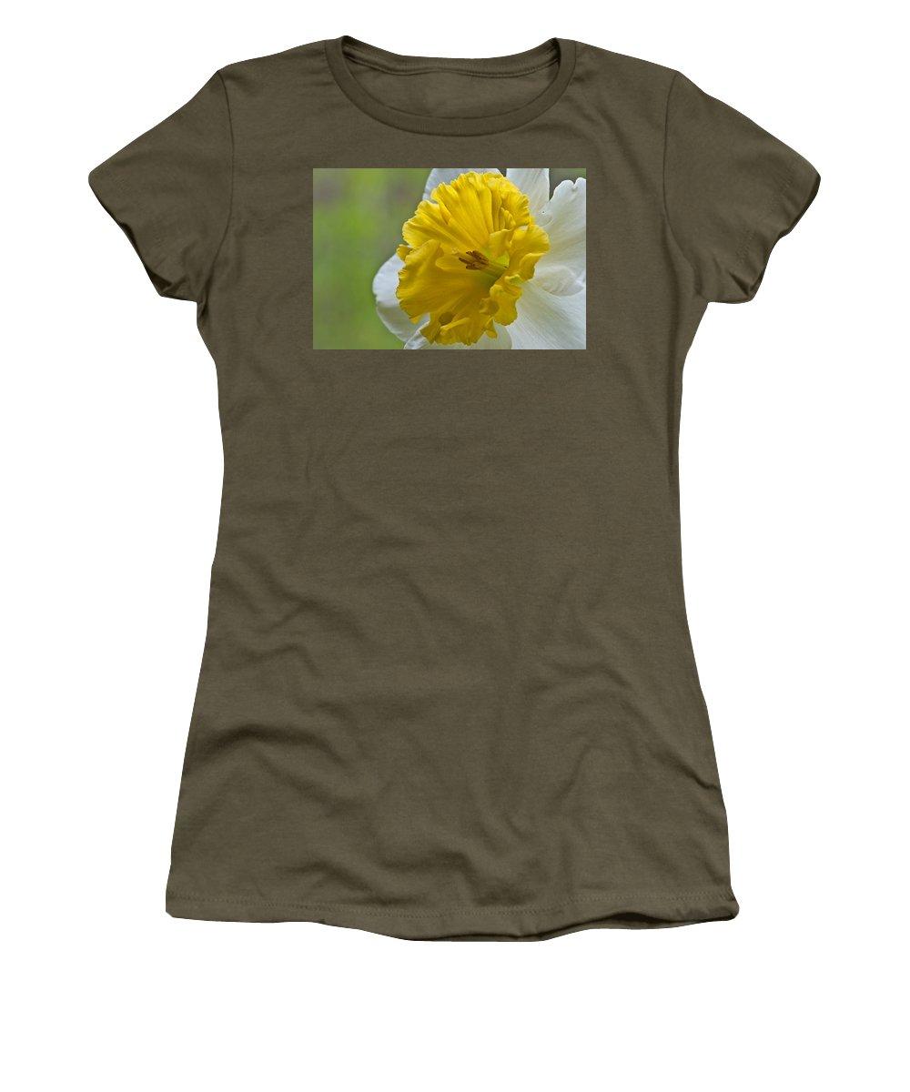 Daffodil Women's T-Shirt featuring the photograph Daffodil by Randy Walton