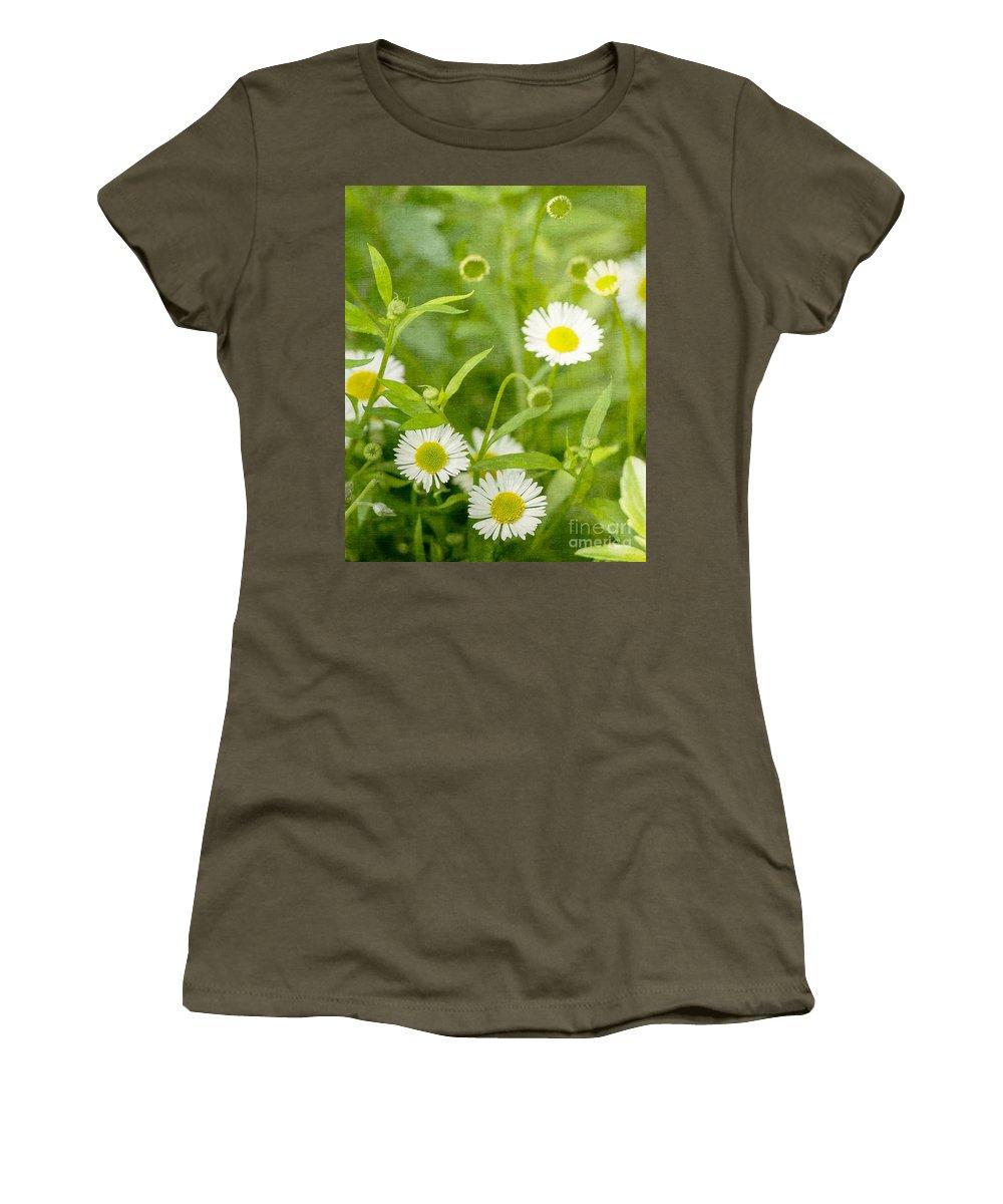 Flower Women's T-Shirt featuring the photograph Daisies by Matt Malloy
