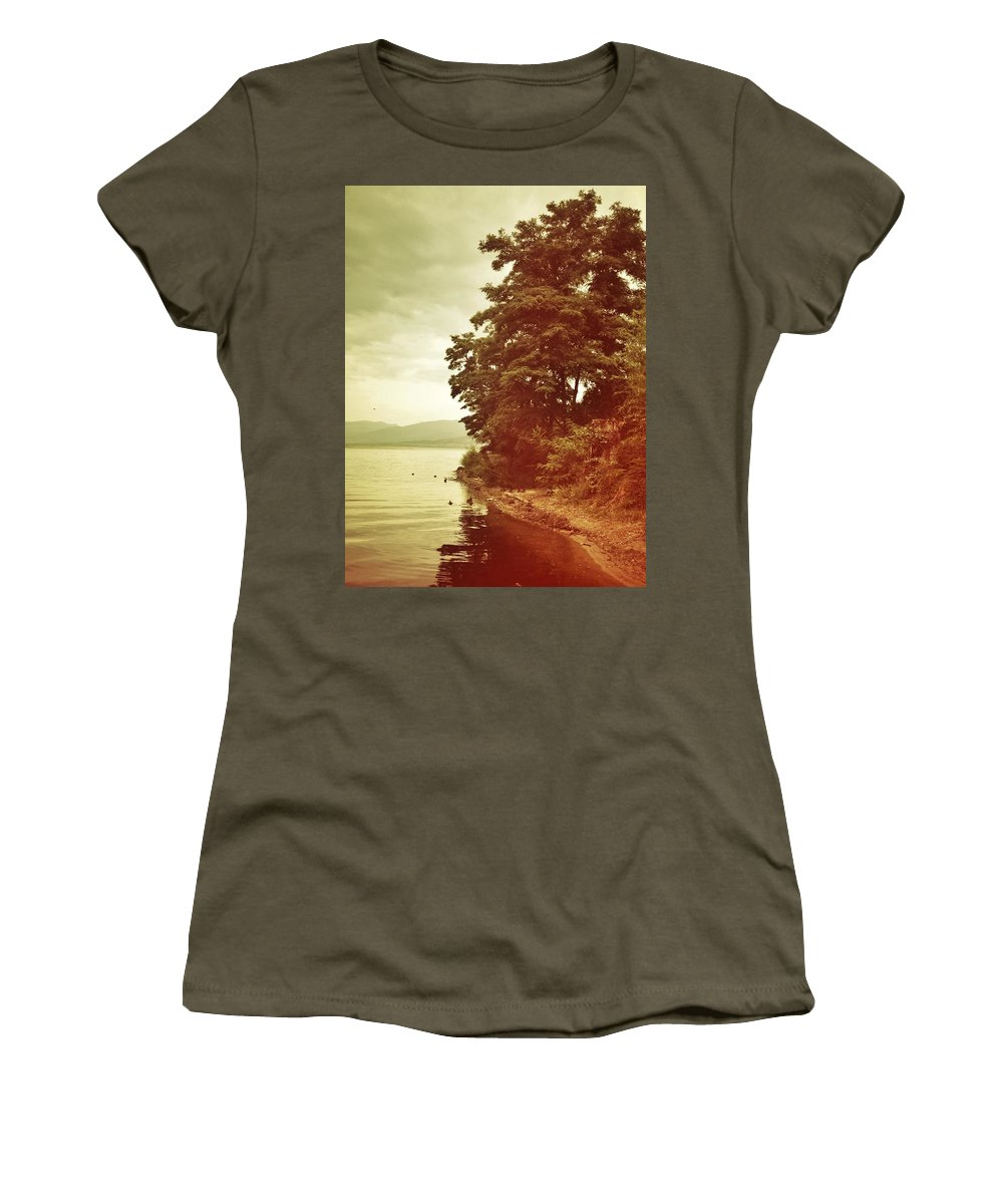 Women's T-Shirt featuring the photograph Dancing Tree by The Artist Project