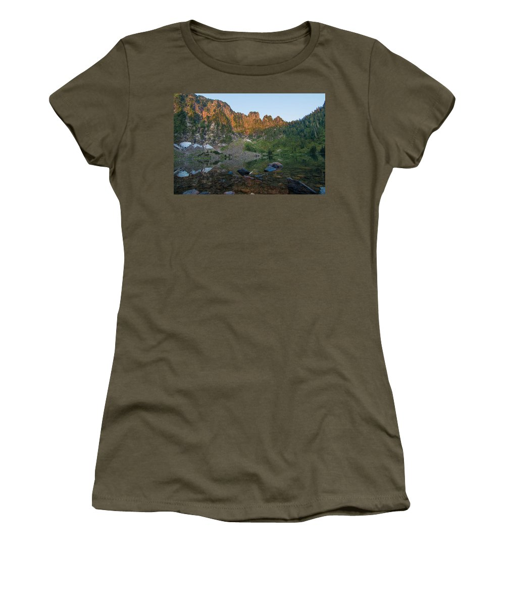 Landscape Women's T-Shirt featuring the photograph Dawn by Ryan McGinnis