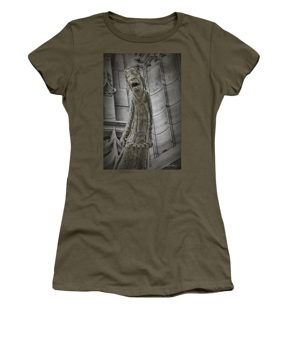 France Women's T-Shirt featuring the photograph Despair by Diana Haronis