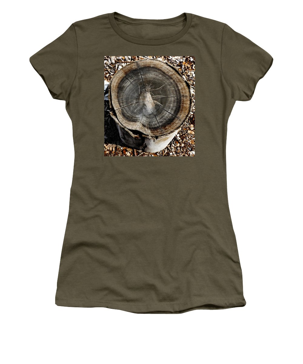Art Women's T-Shirt featuring the photograph Dragon Wood by Steve Taylor