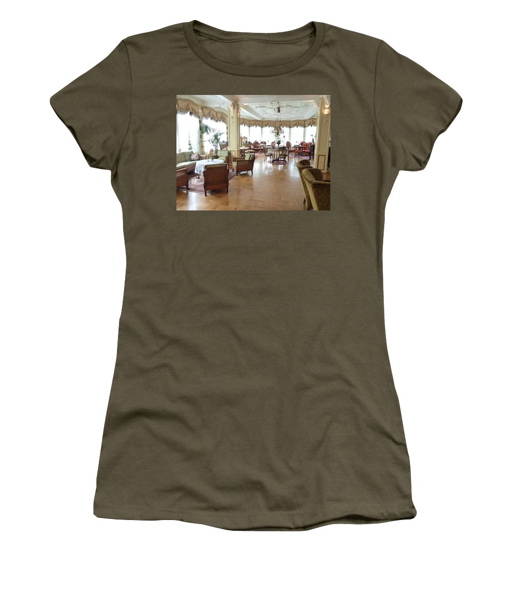 Women's T-Shirt (Athletic Fit) featuring the photograph Drawing Room Of Union Oye by Katerina Naumenko