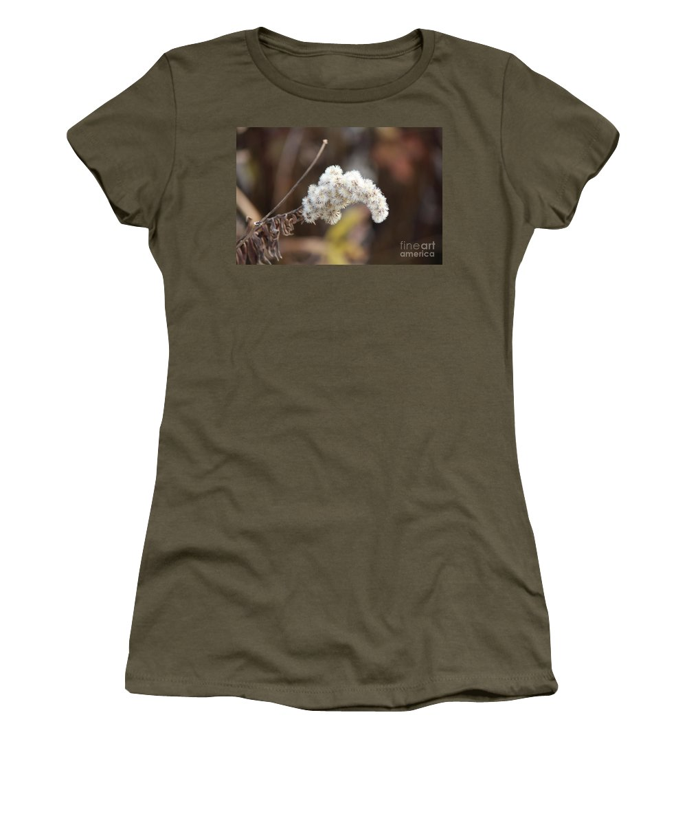 Flower Women's T-Shirt featuring the photograph Drying Time by Jamie Smith