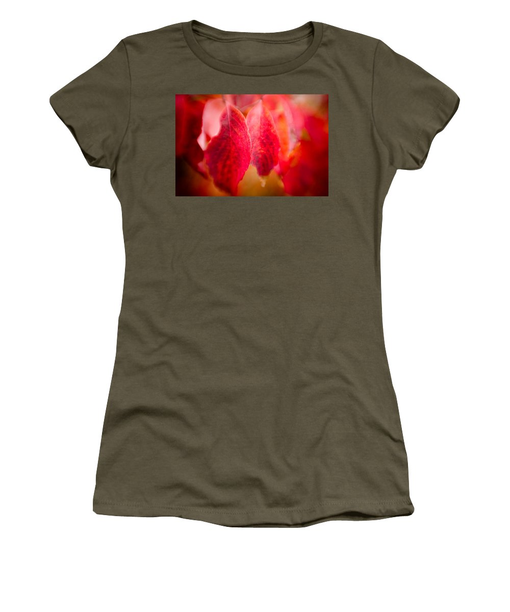 Color Women's T-Shirt featuring the photograph Fall Colors 0666 by Timothy Bischoff