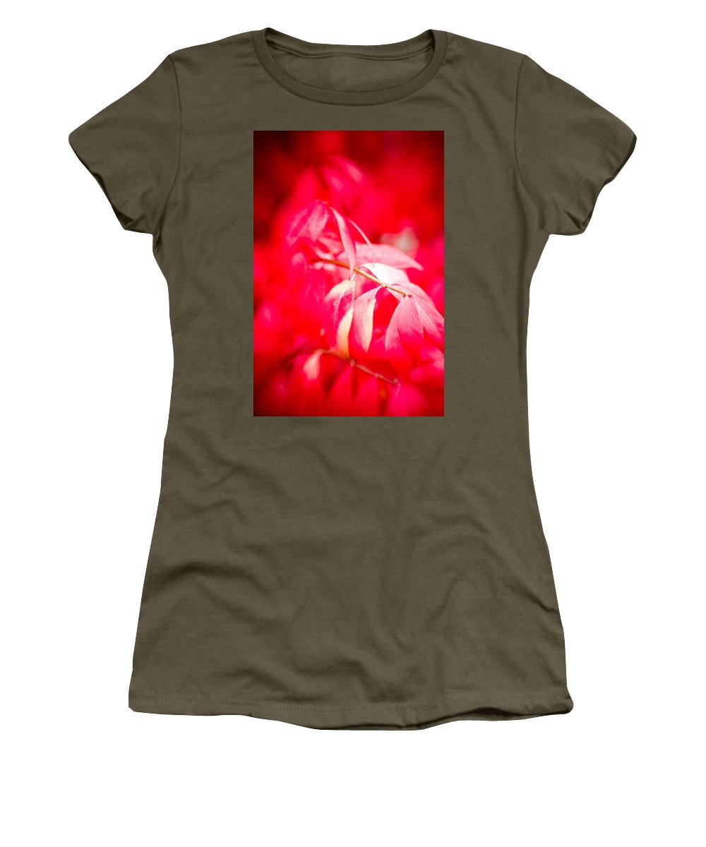 Color Women's T-Shirt featuring the photograph Fall Colors 6669 by Timothy Bischoff