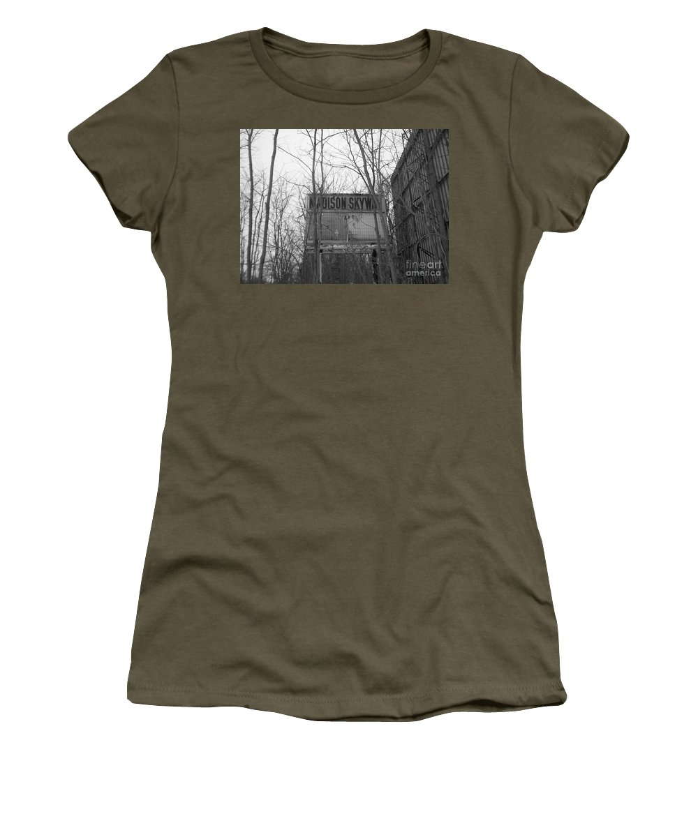 Drive In Women's T-Shirt featuring the photograph Family Night by Michael Krek