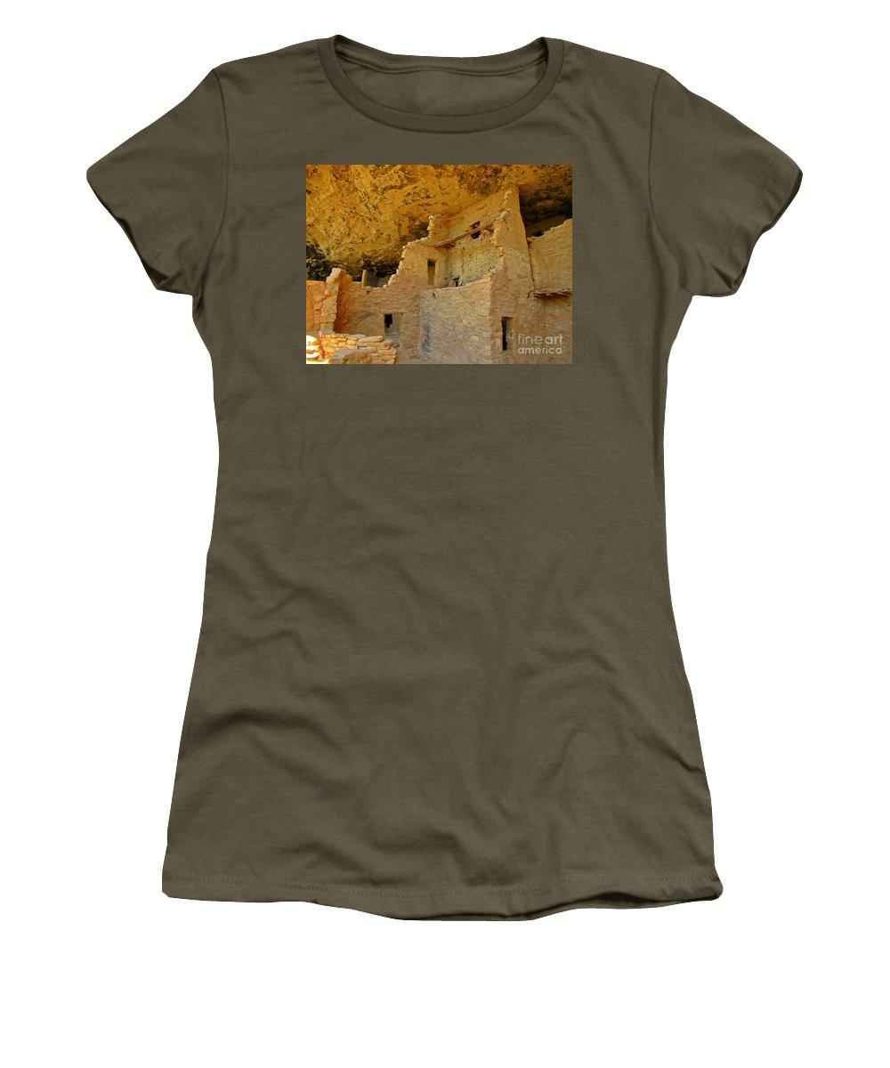 Famous National Parks Women's T-Shirt featuring the photograph Famous National Parks by John Malone