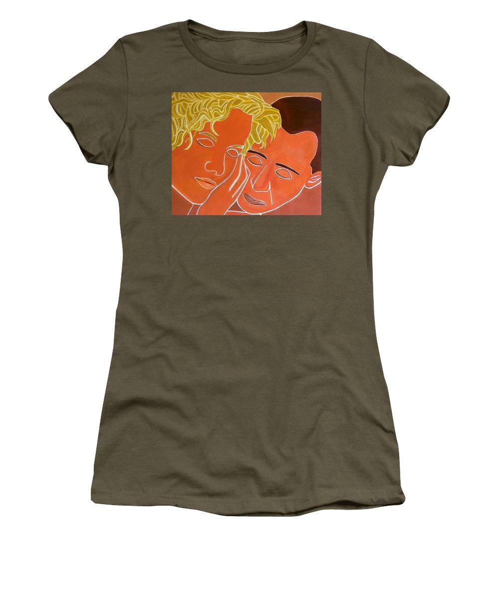 Forgive Women's T-Shirt featuring the digital art Forgiveness by Gina Dsgn