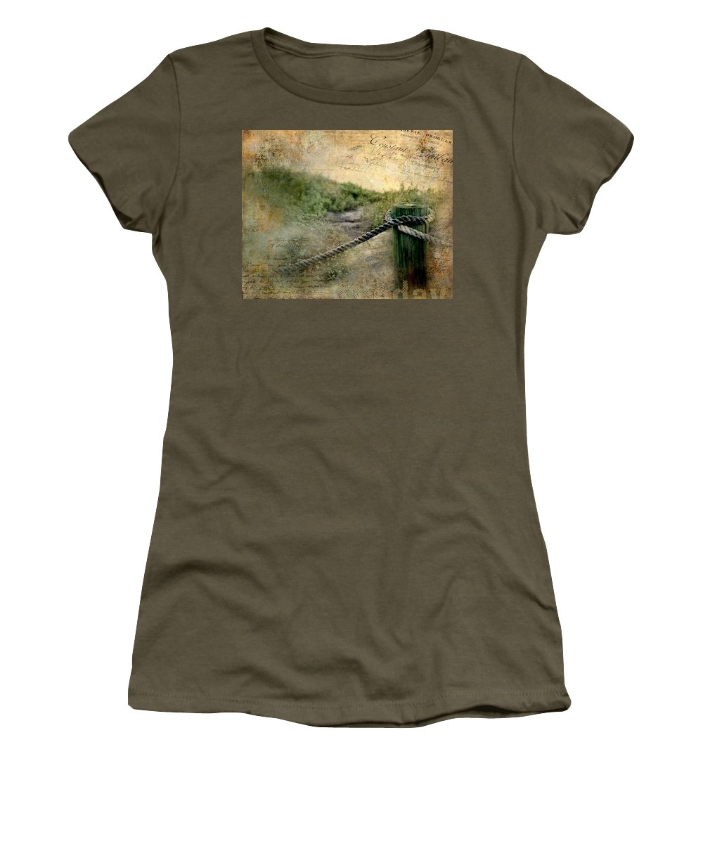 Tags Women's T-Shirt featuring the photograph Fort Lauderdale Sunday by Evie Carrier