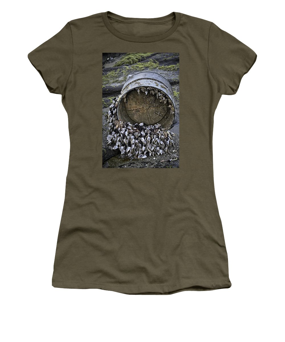 Yachats Women's T-Shirt featuring the photograph From The Ocean by Image Takers Photography LLC - Carol Haddon