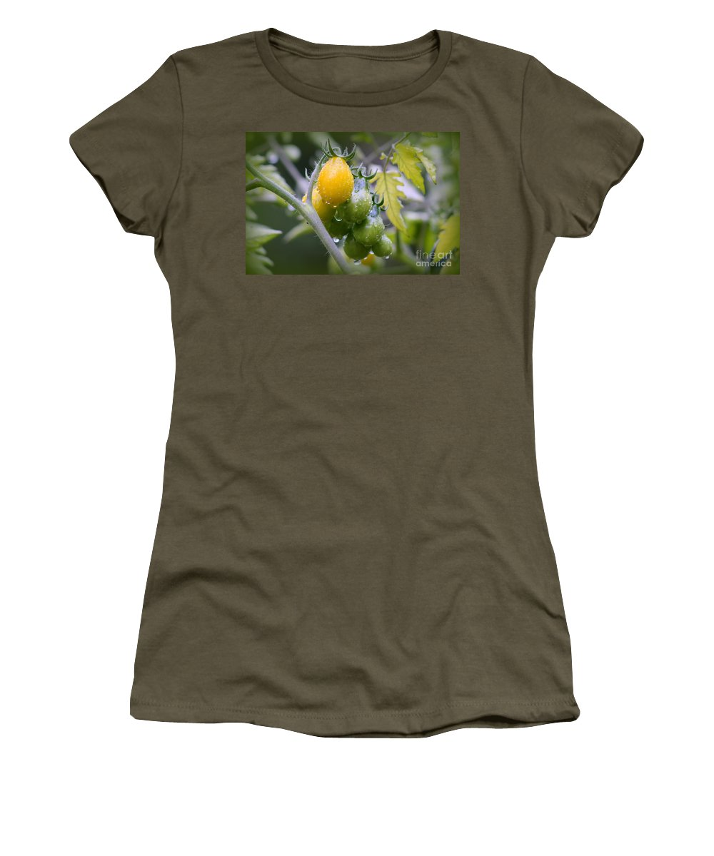 Tomatoes Women's T-Shirt featuring the photograph Fruits Of Our Labours by Leone Lund