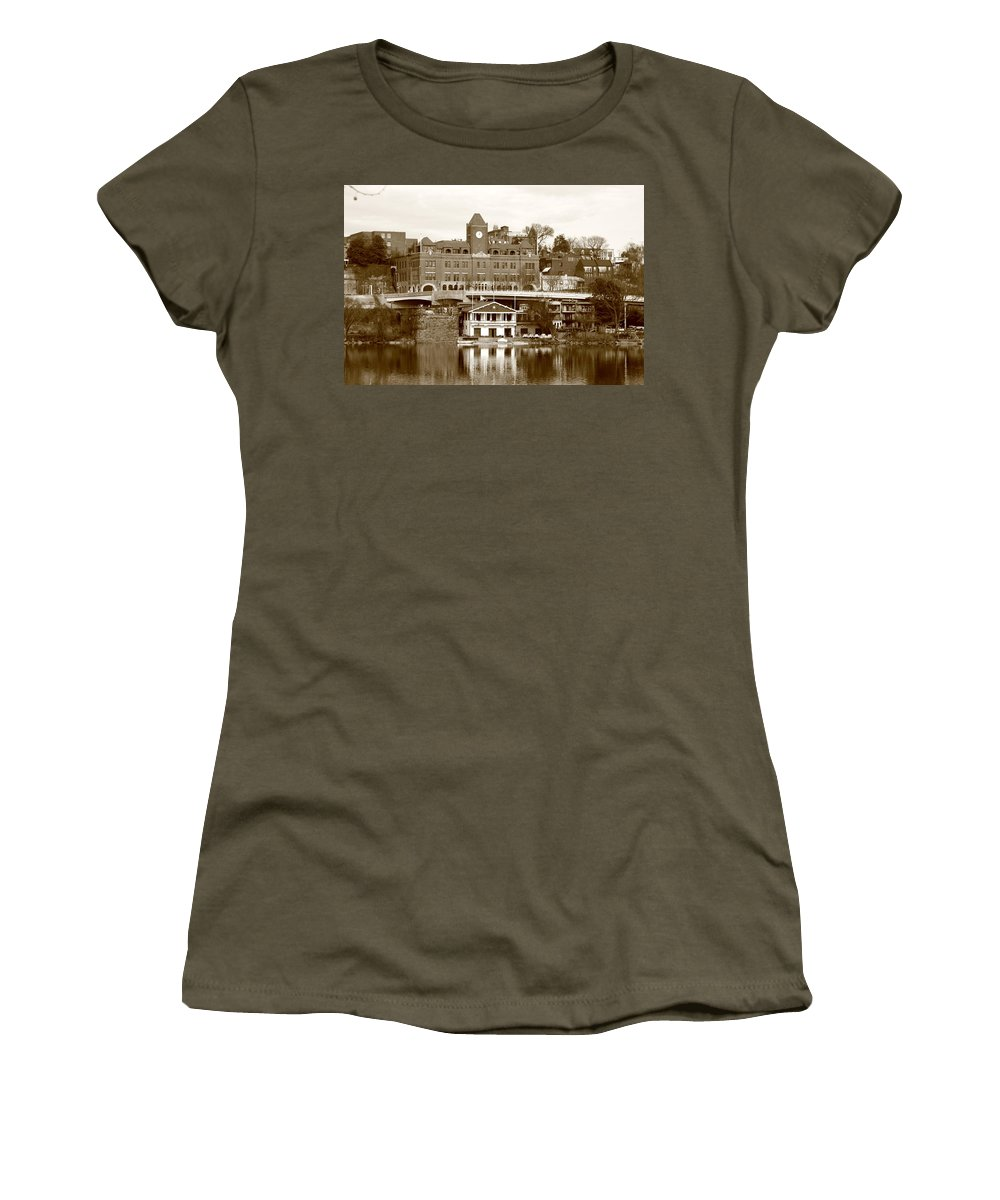 Great Women's T-Shirt featuring the photograph Georgetown by Scott Fracasso