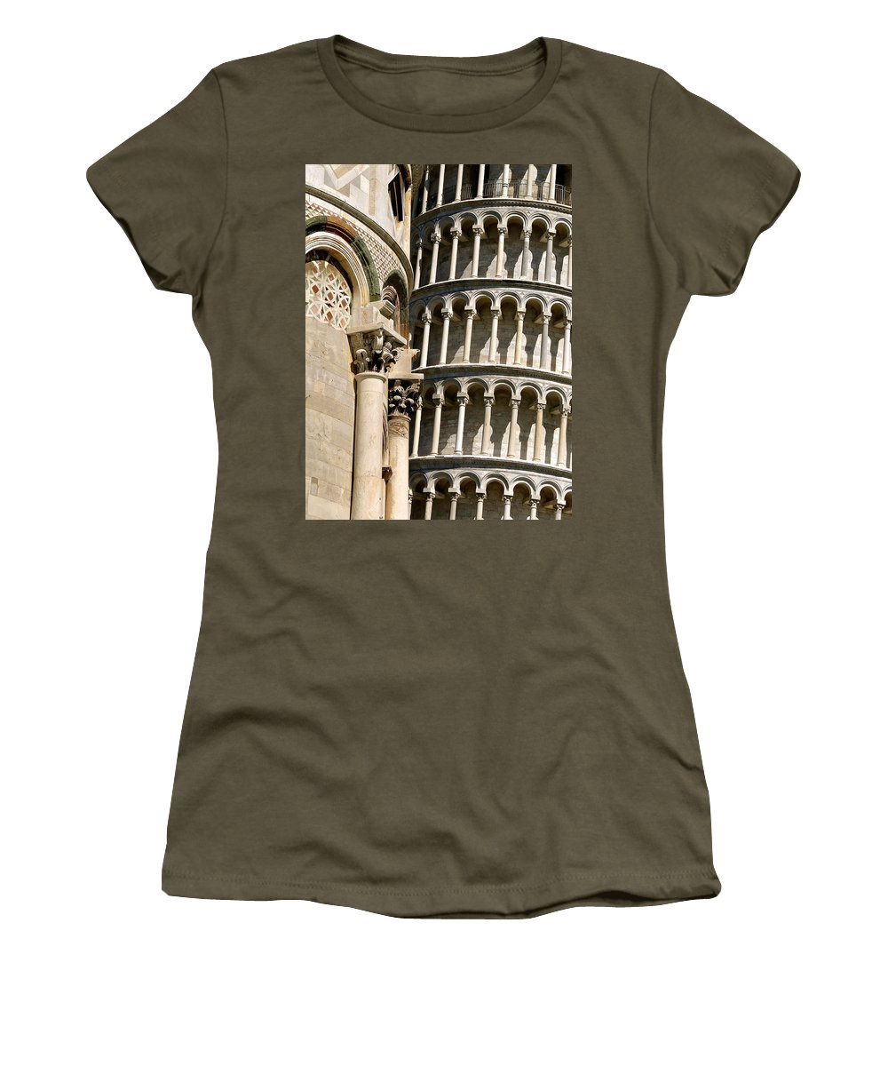 Leaning Tower Of Pisa Women's T-Shirt featuring the photograph Glorious Moment by Ira Shander